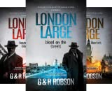 img - for London Large Hard-Boiled Crime Series (3 Book Series) book / textbook / text book
