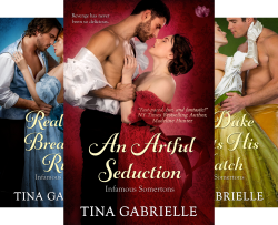 Infamous Somertons (3 Book Series) by  Tina Gabrielle
