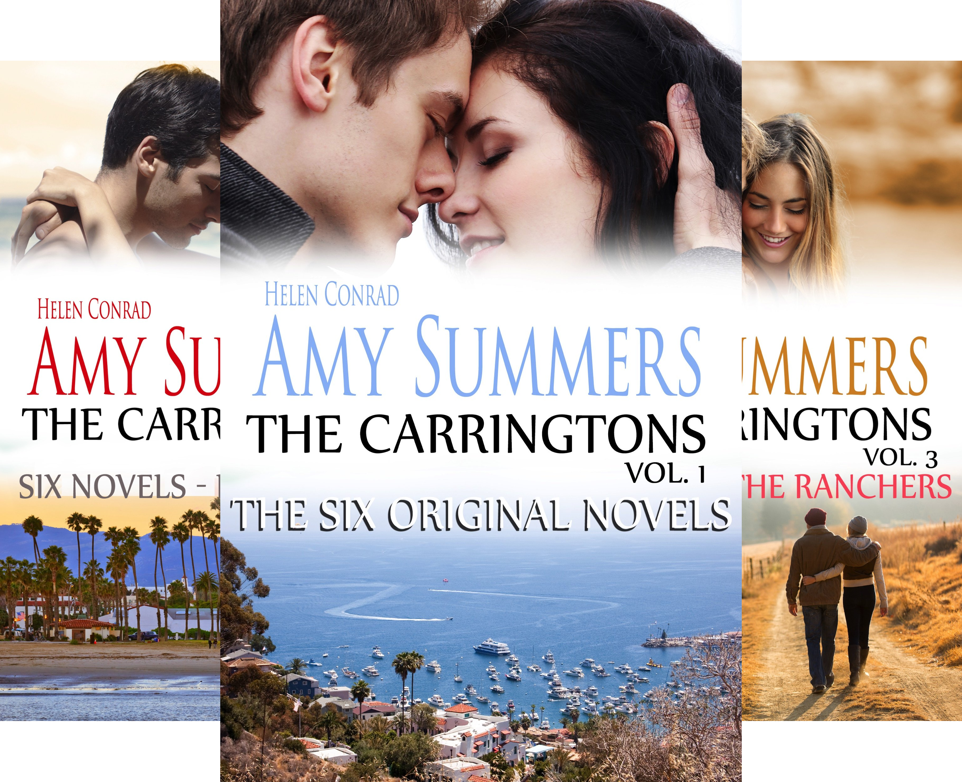 The Carringtons (3 Book Series)