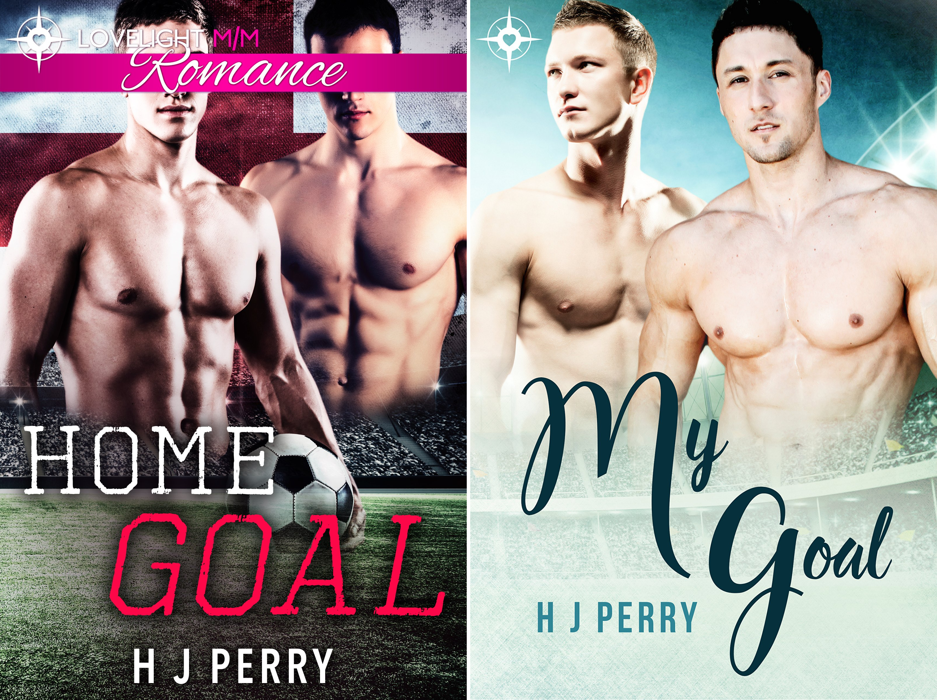 Gay Footballer Romance (2 Book Series)