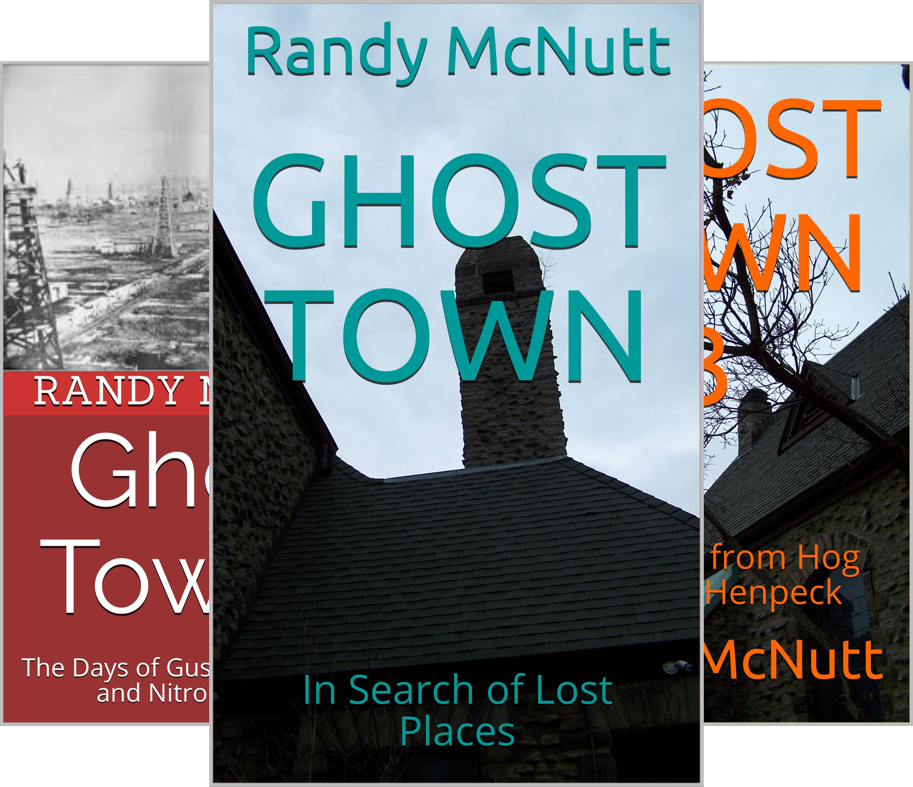 Ghost Towns of America (3 Book Series)