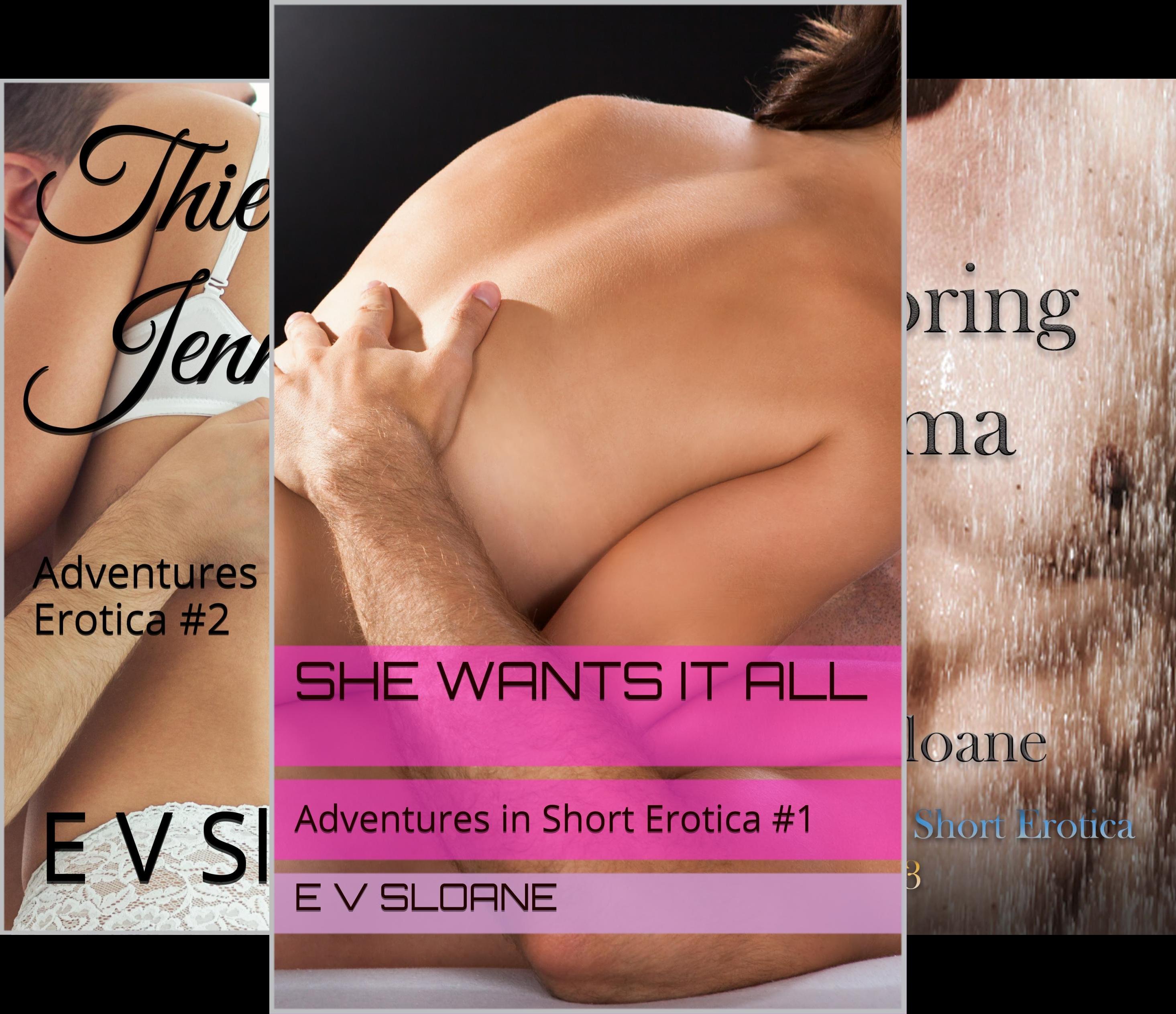 Adventures in Short Erotica (3 Book Series)