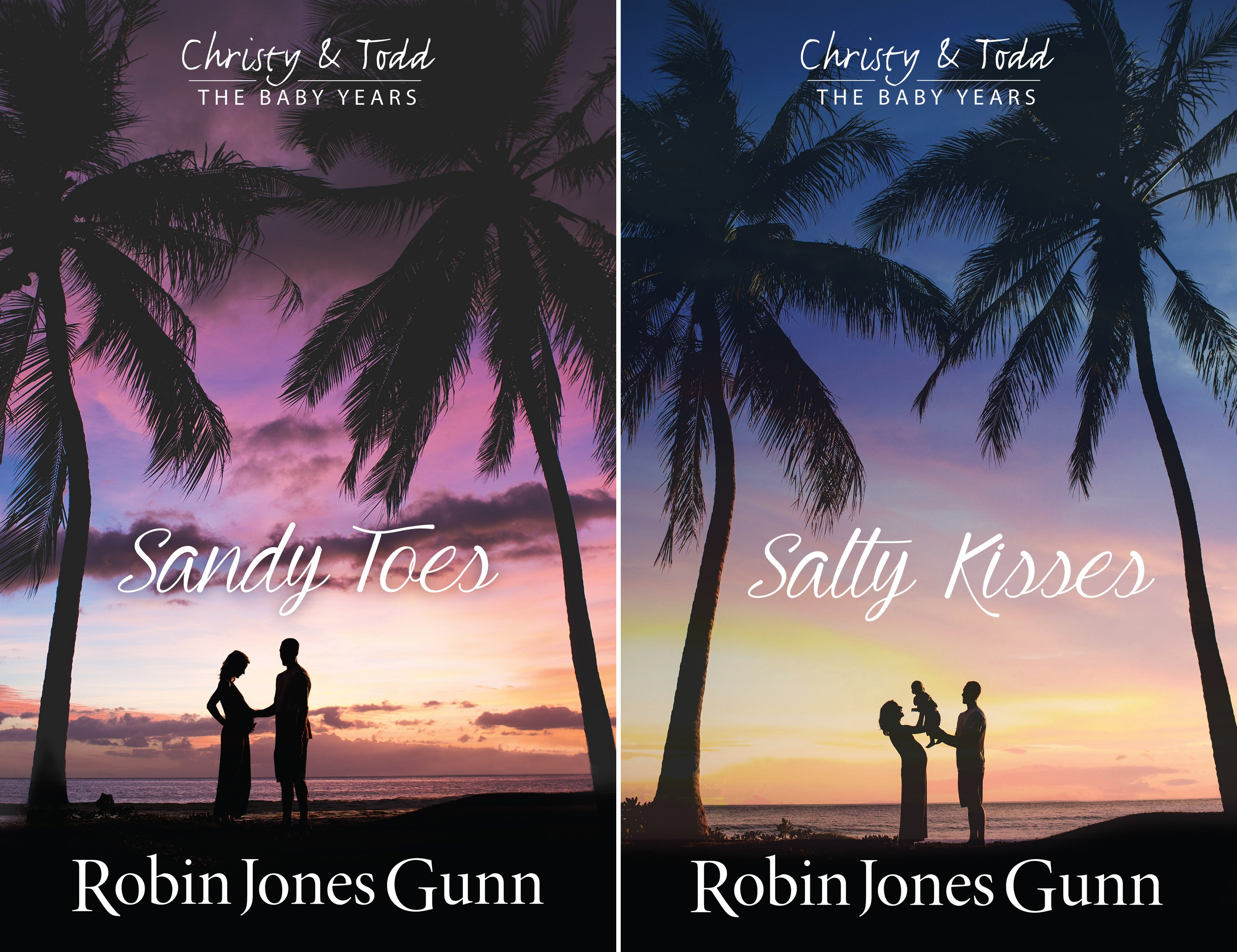 Christy & Todd- The Baby Years (2 Book Series)