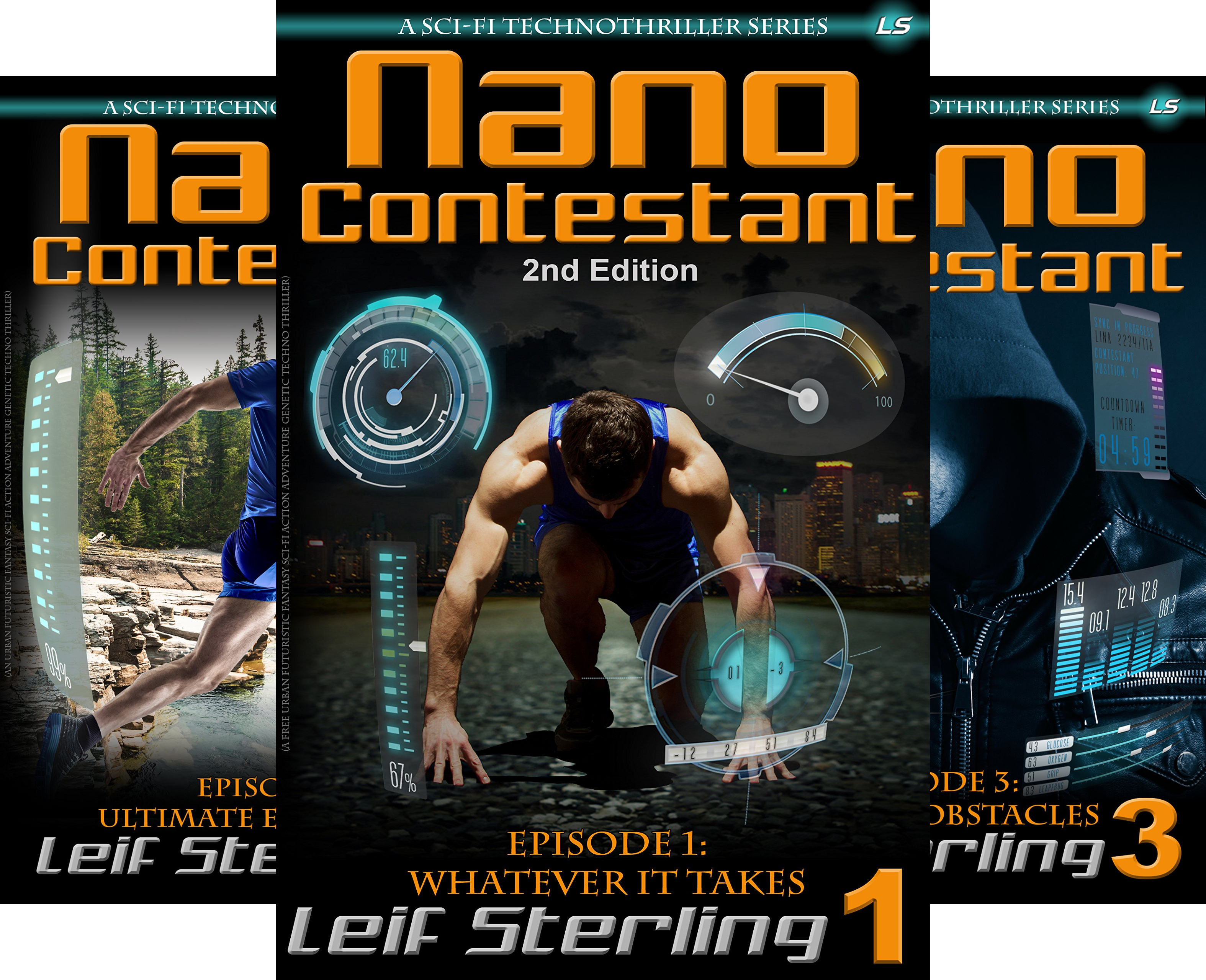 Nano Contestant Series (5 Book Series)