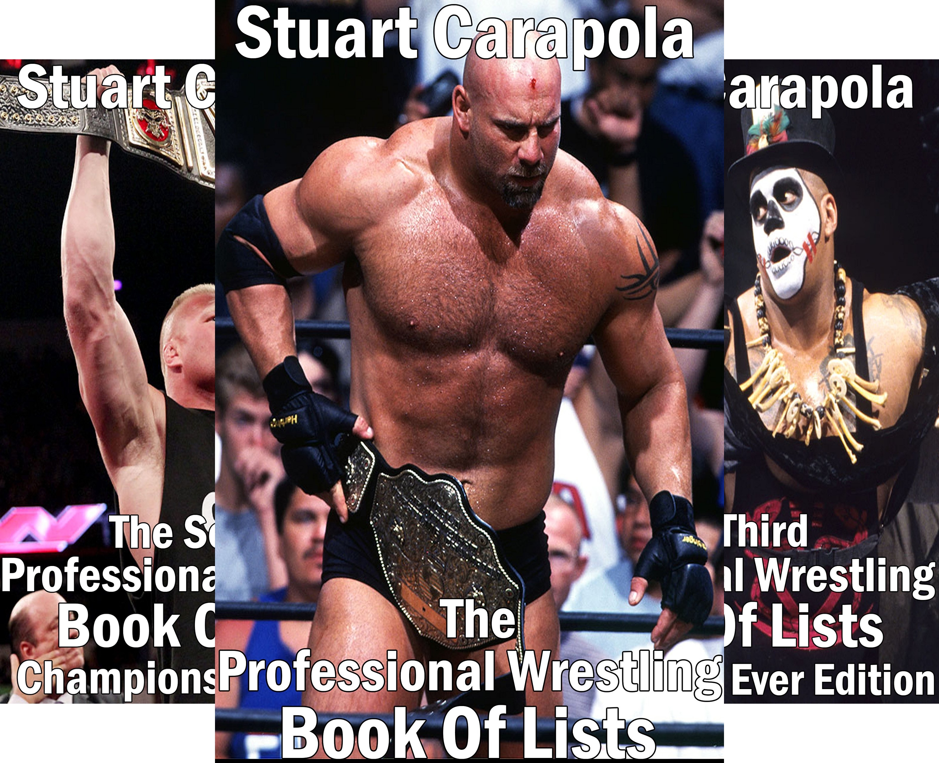 The Professional Wrestling Book Of Lists (5 Book Series)