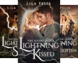 The Lucent Series (3 Book Series) by  Lila Felix
