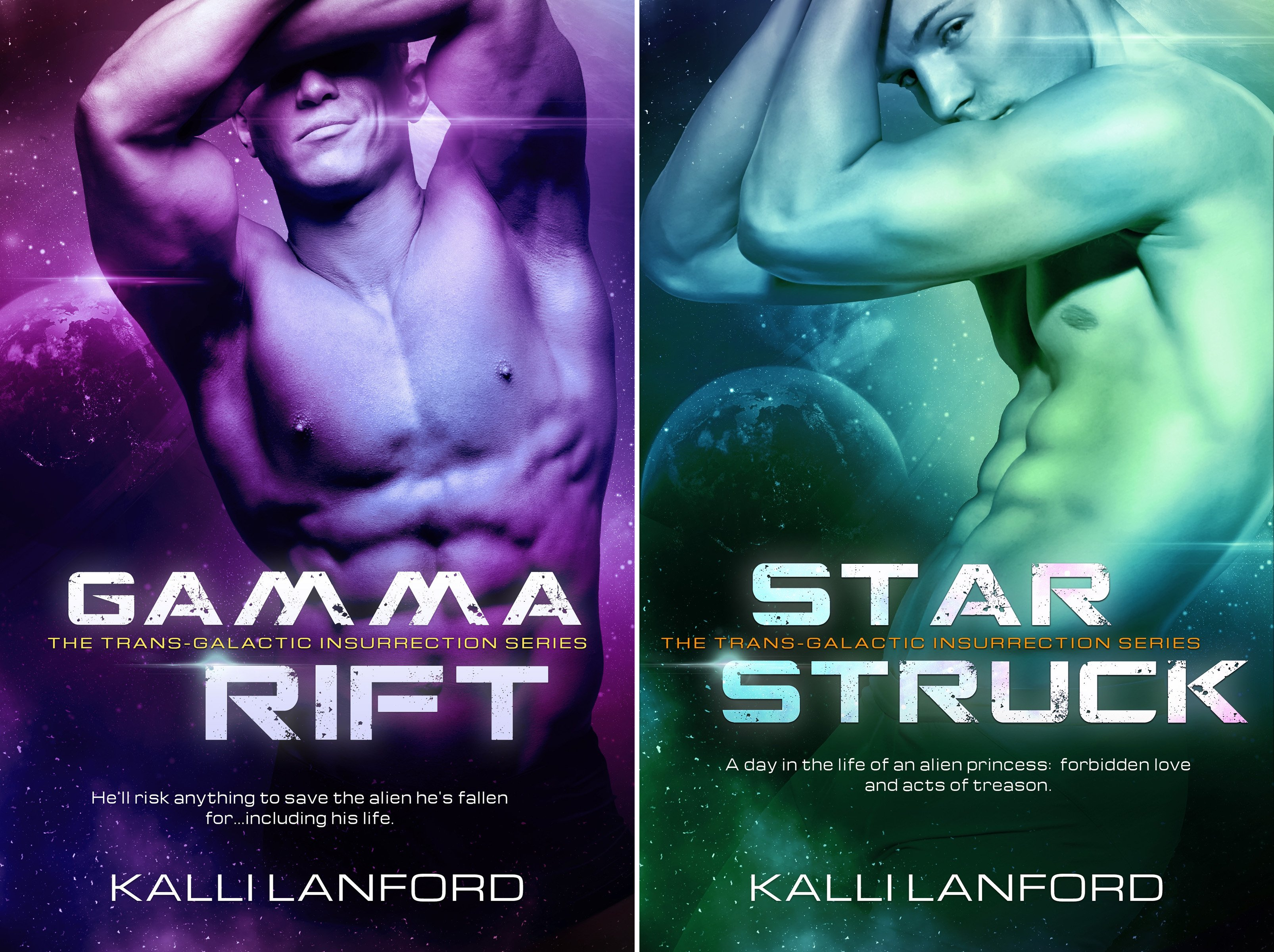 Trans-Galactic Insurrection (2 Book Series)