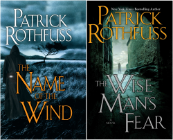 The Kingkiller Chronicle Series (2 books) by  Patrick Rothfuss