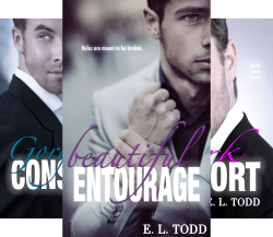 Beautiful Entourage (5 Book Series) by  E. L. Todd