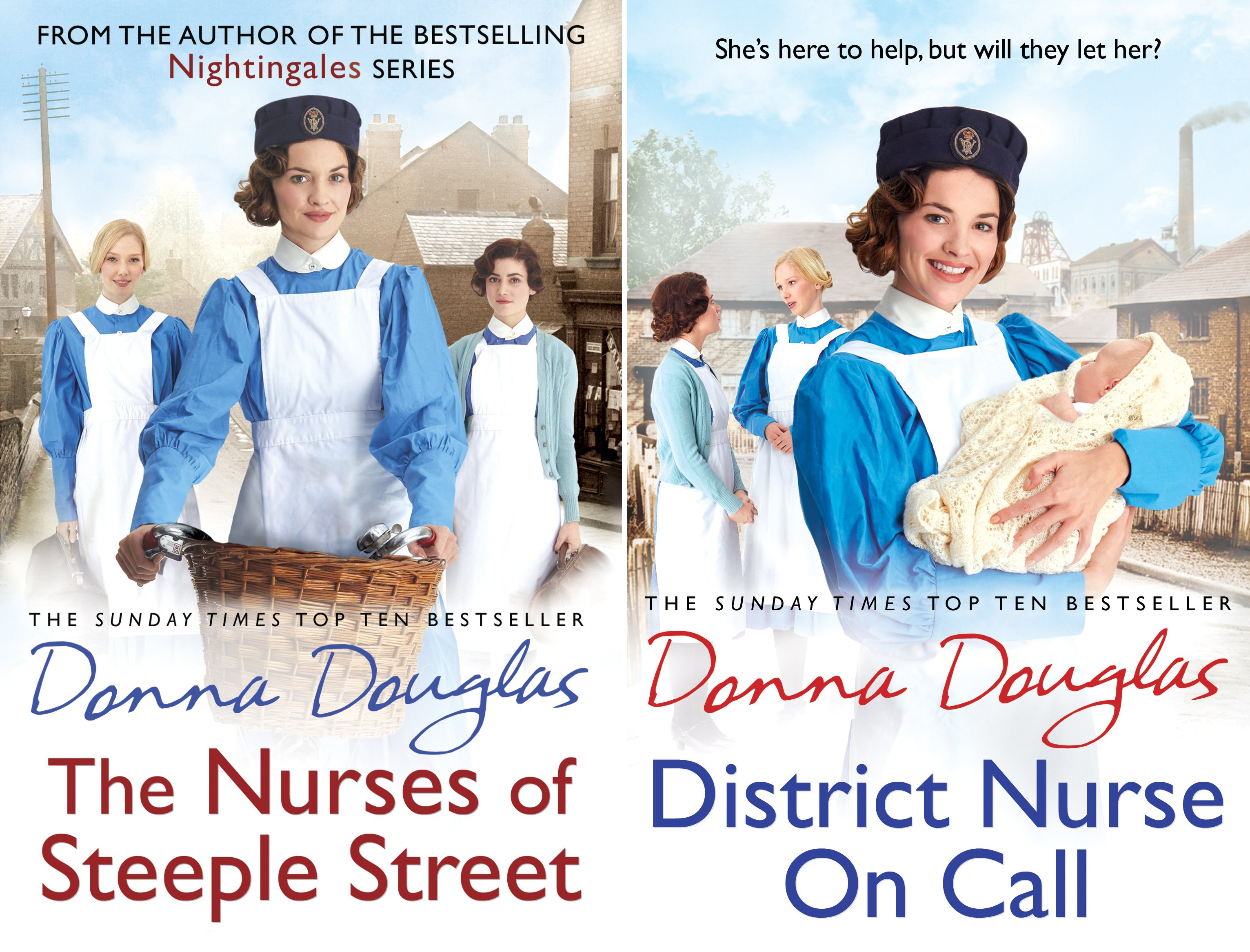 The Nurses of Steeple Street (3 Book Series)