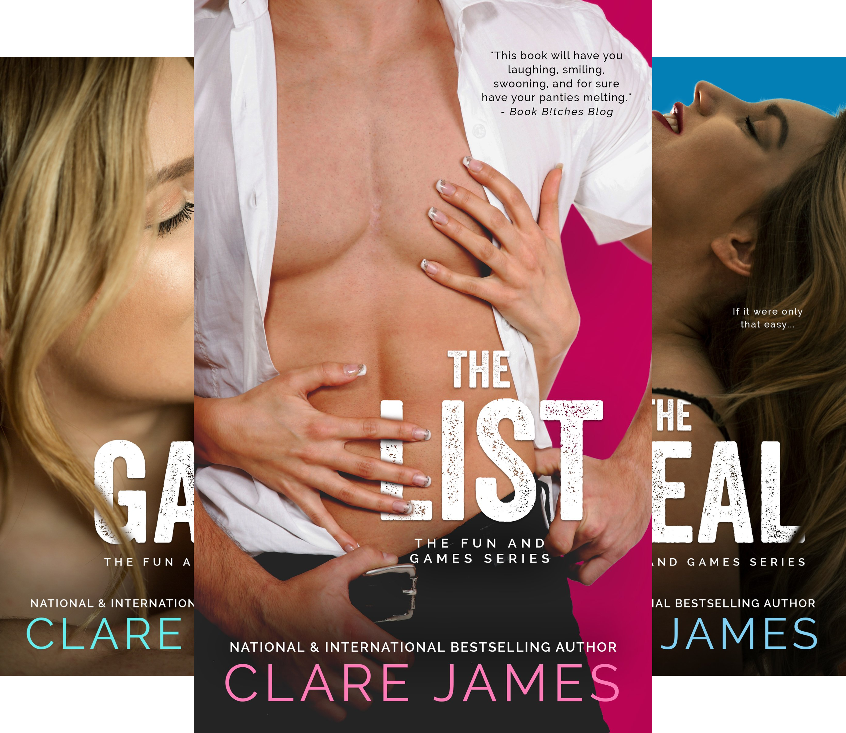 The Fun and Games Series (3 Book Series)