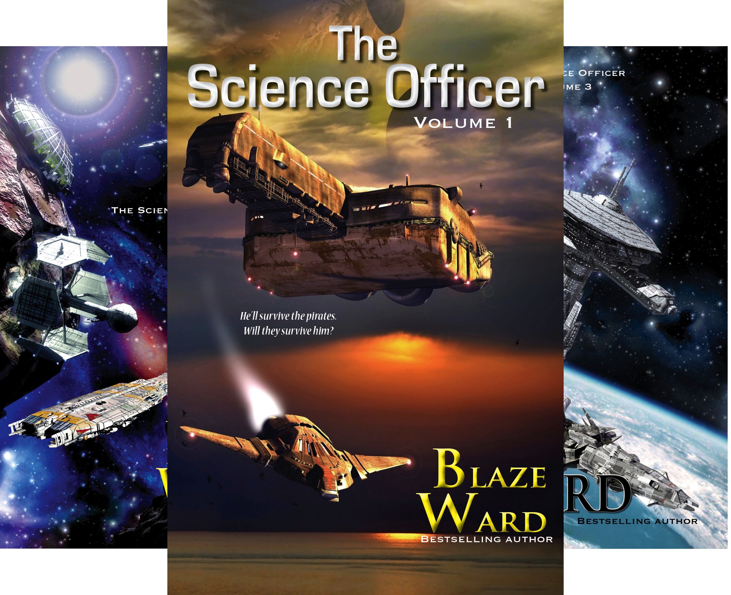 The Science Officer (8 Book Series)