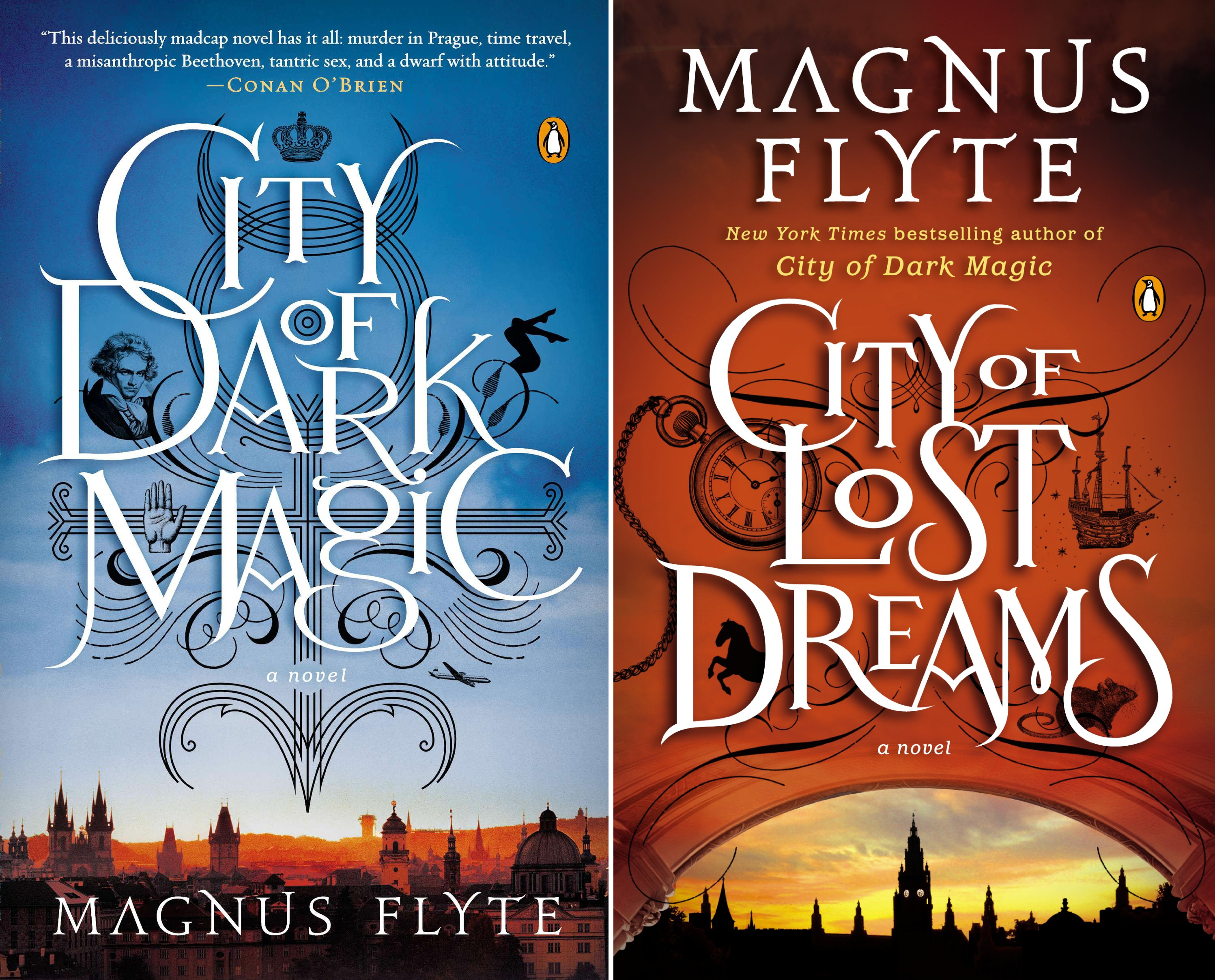 City of Dark Magic Series (2 Book Series)