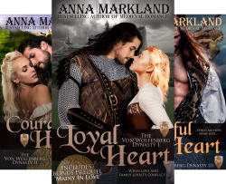 The Von Wolfenberg Dynasty (3 Book Series) by  Anna Markland