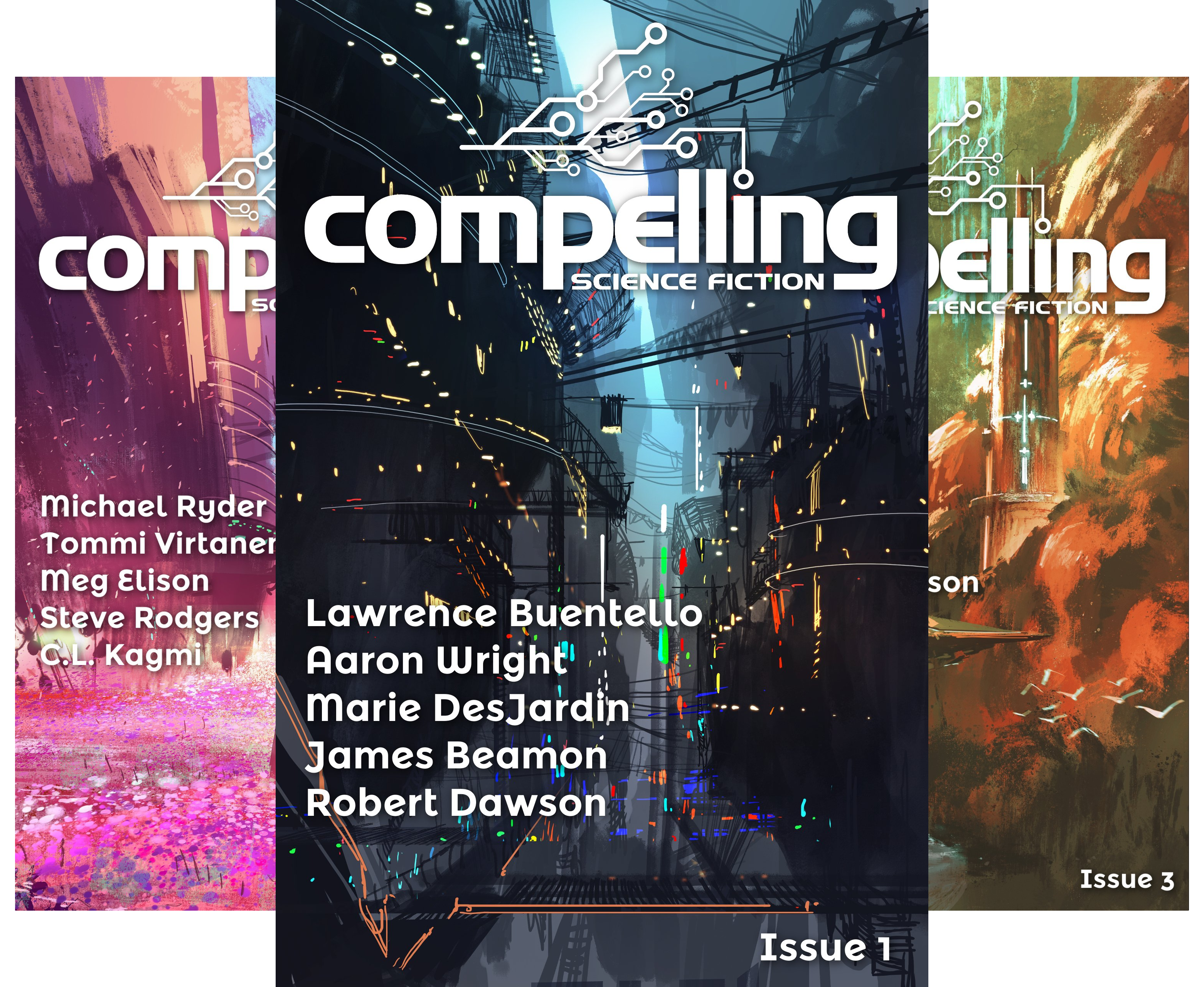 Compelling Science Fiction Issue (11 Book Series)