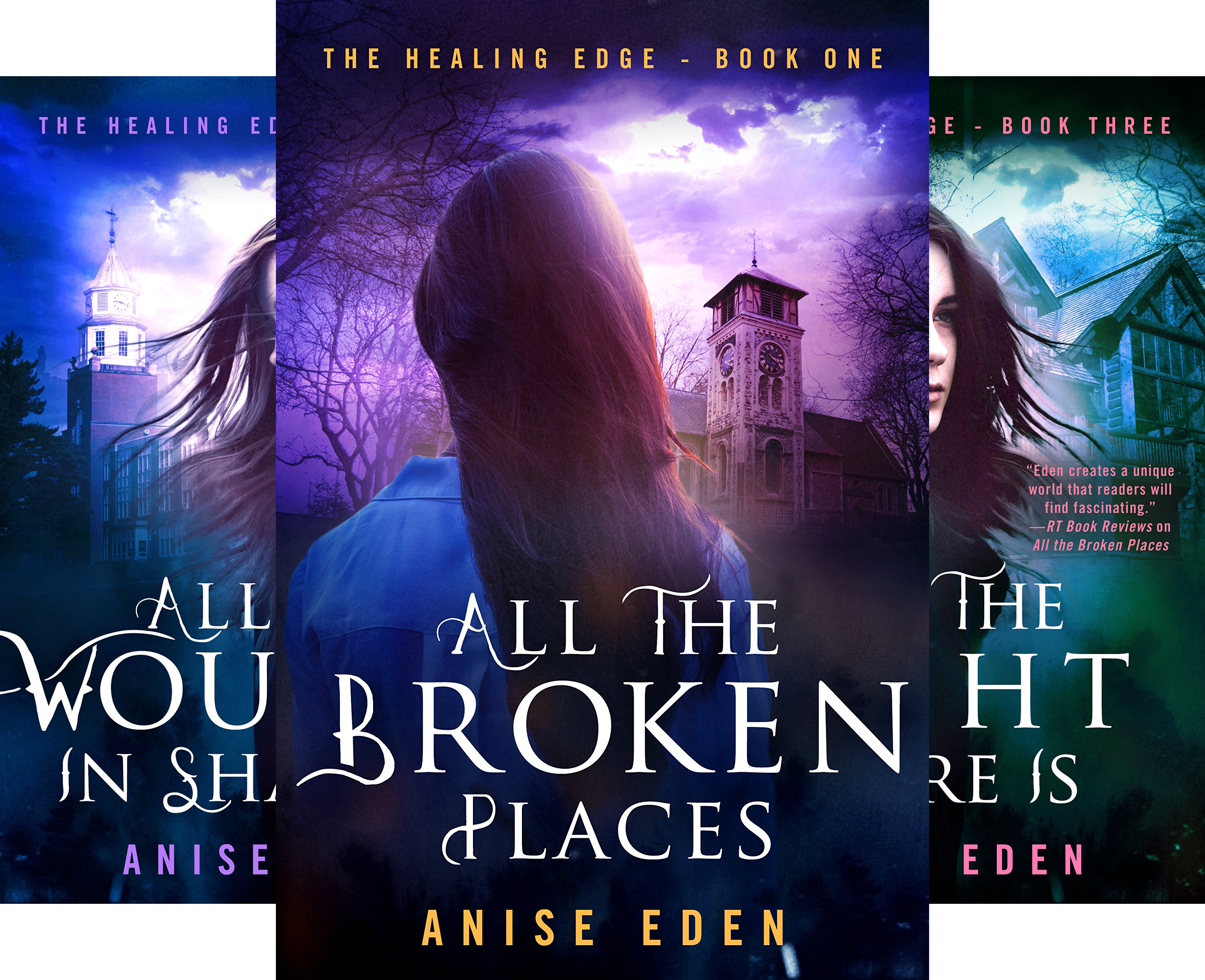 The Healing Edge (3 Book Series)