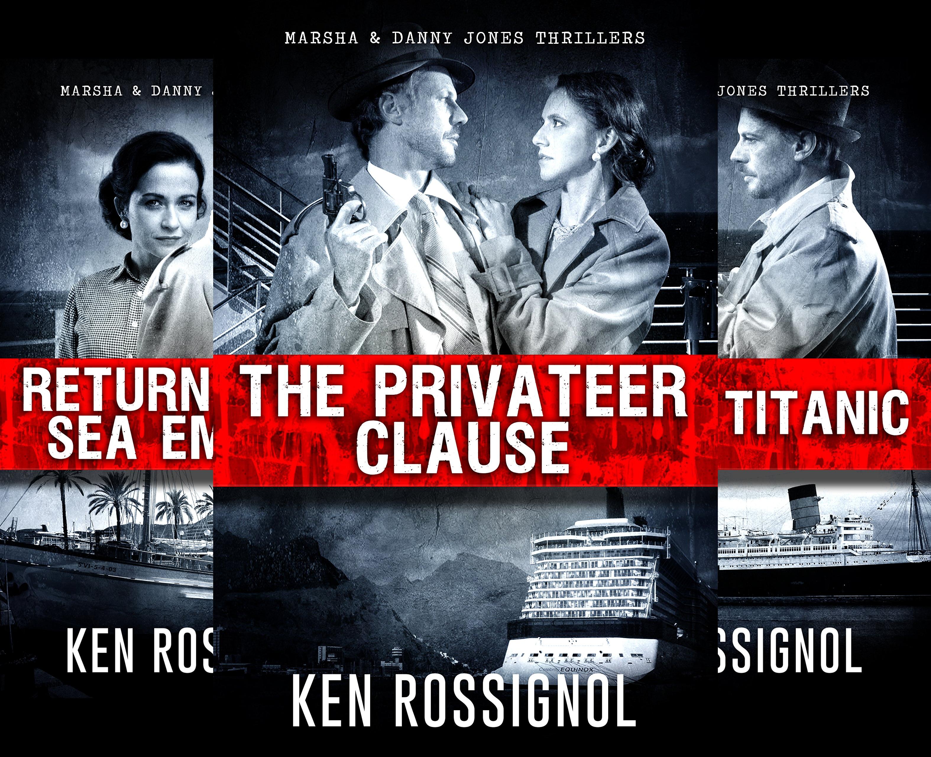 Marsha & Danny Jones Thriller (7 Book Series)