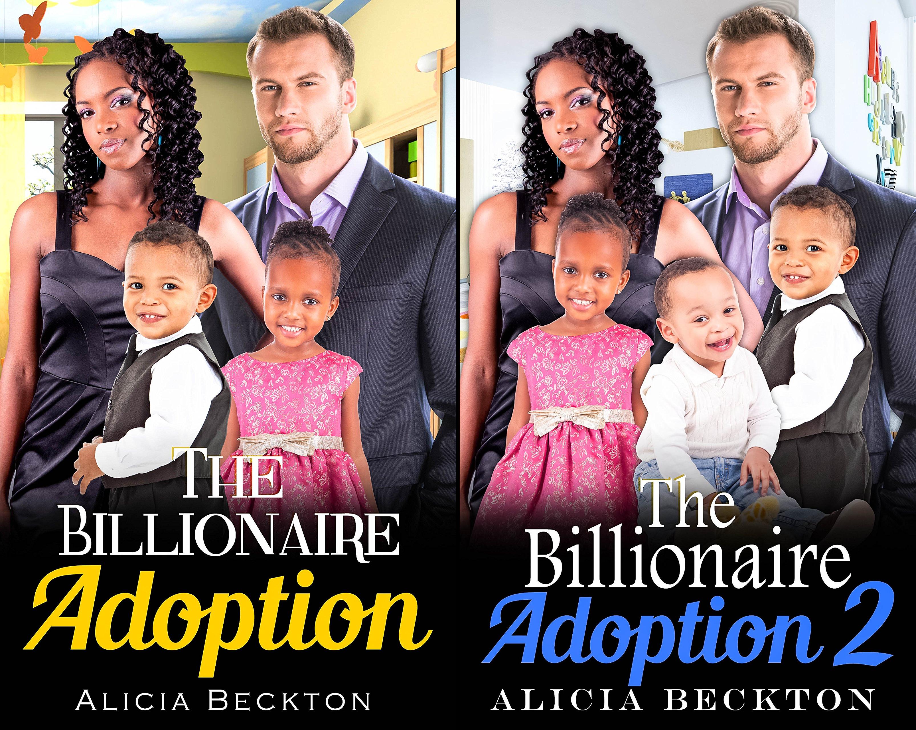 A Heartfelt, BWWM, Billionaire, Adoption Romance (2 Book Series)