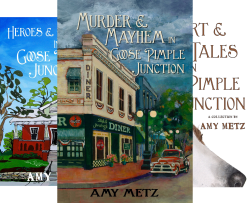 Goose Pimple Junction Mysteries (4 Book Series) by  Amy Metz