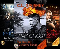 The Bill Dix Detective Series (4 Book Series) by  C.L. Swinney
