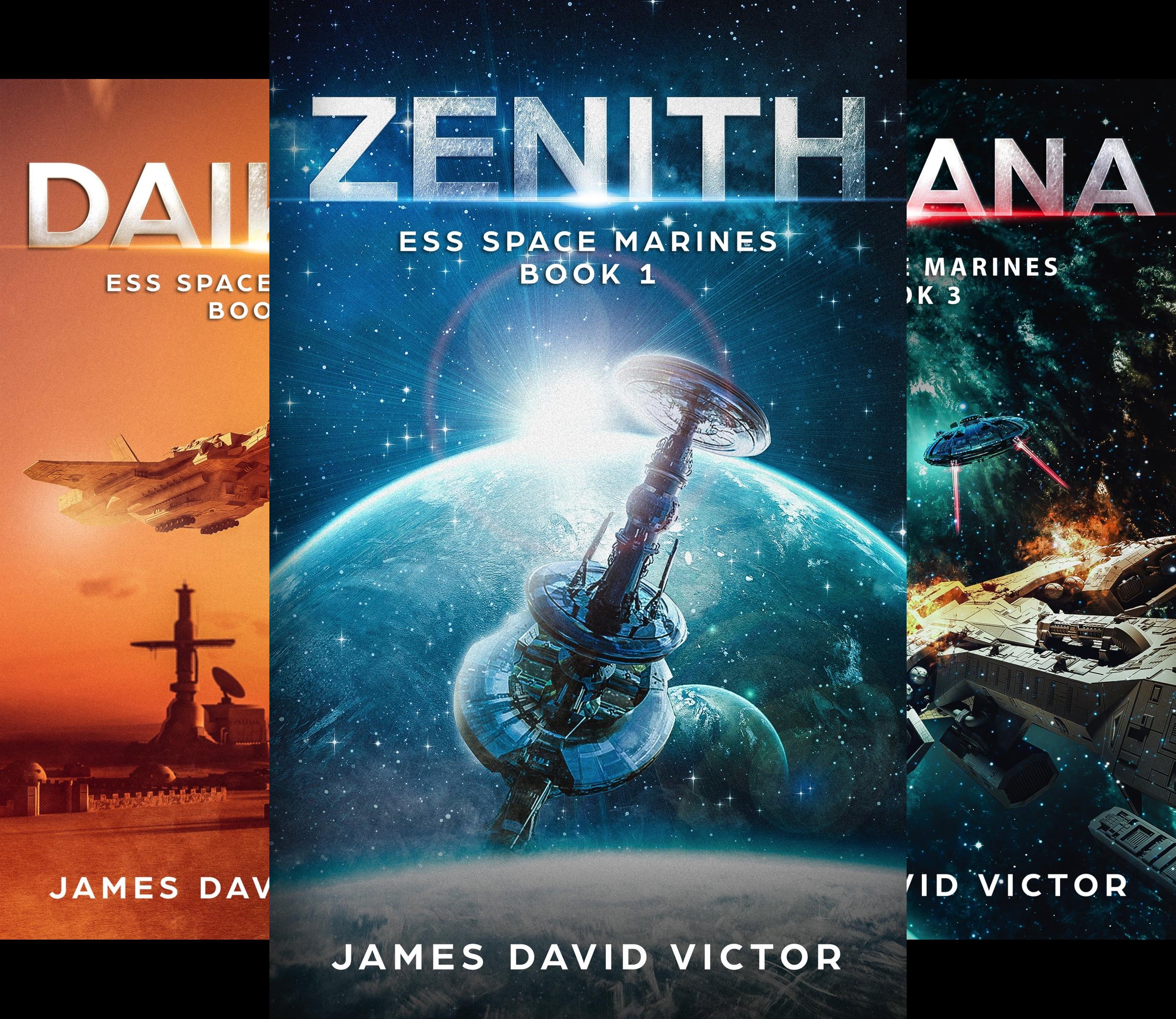 ESS Space Marines (4 Book Series)