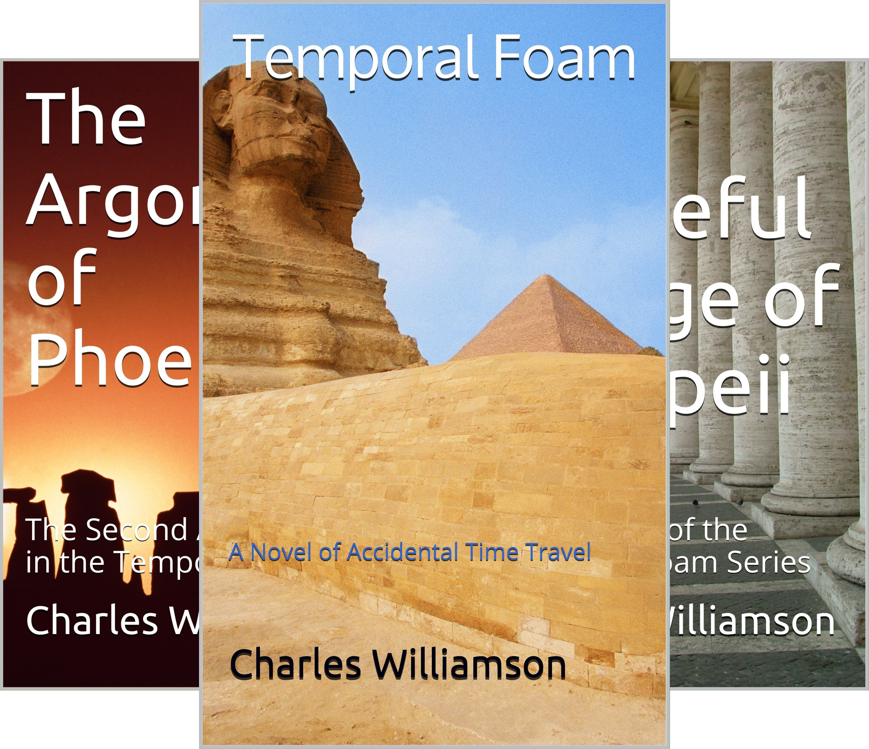 Temporal Foam (3 Book Series)