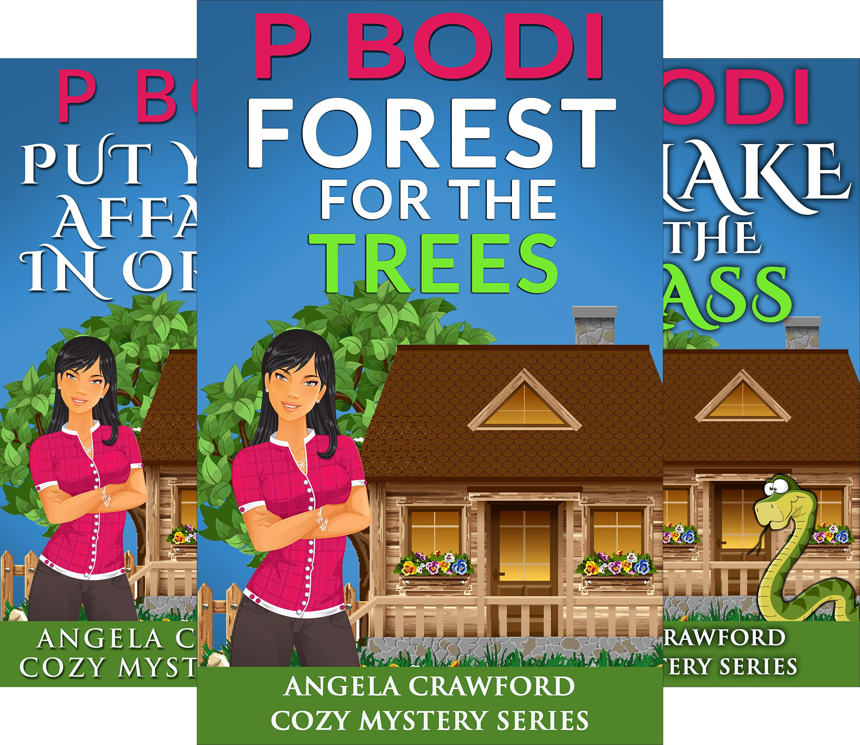 Angela Crawford Cozy Mystery Series (5 Book Series)