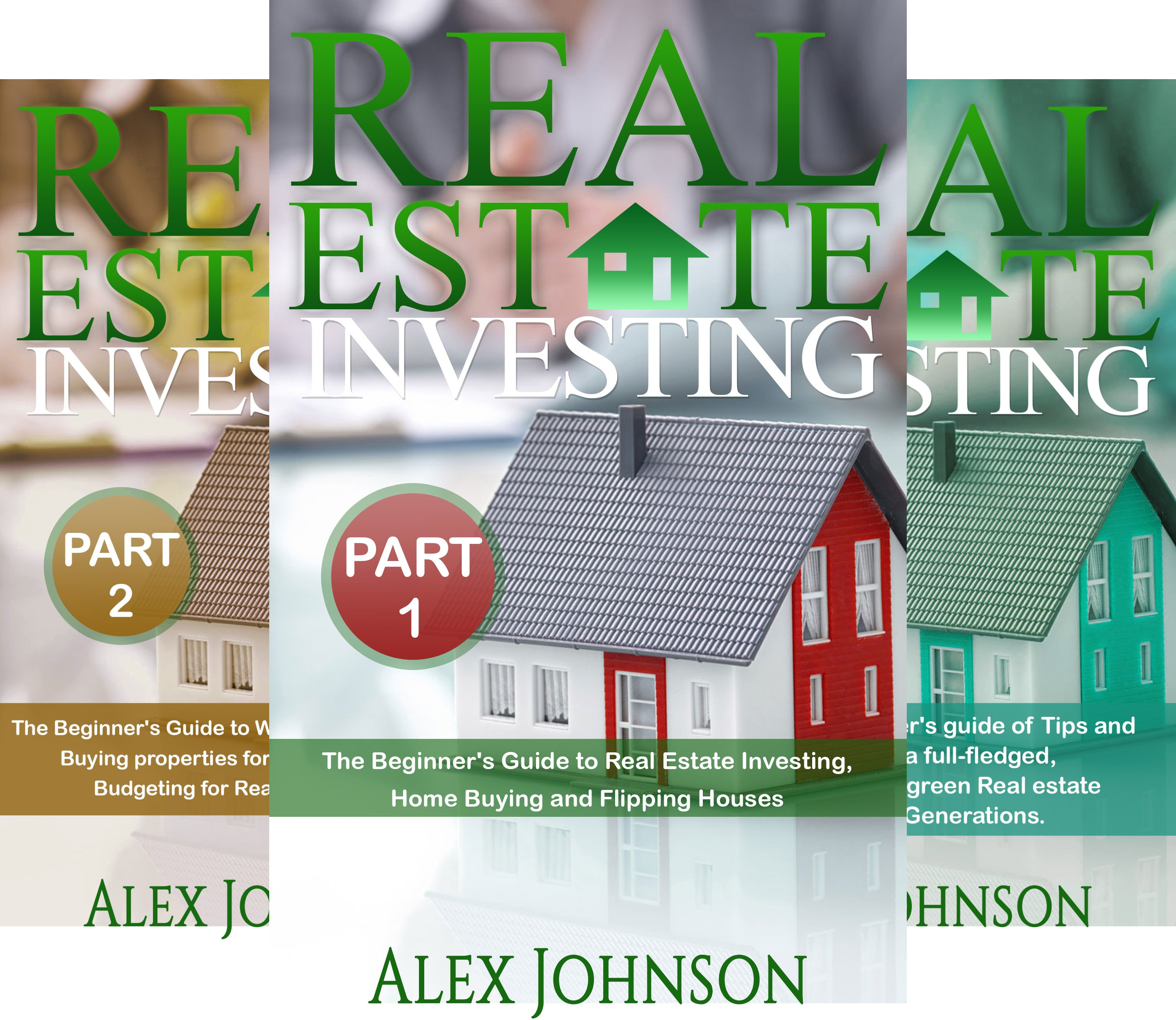 Real Estate Investing (3 Book Series)
