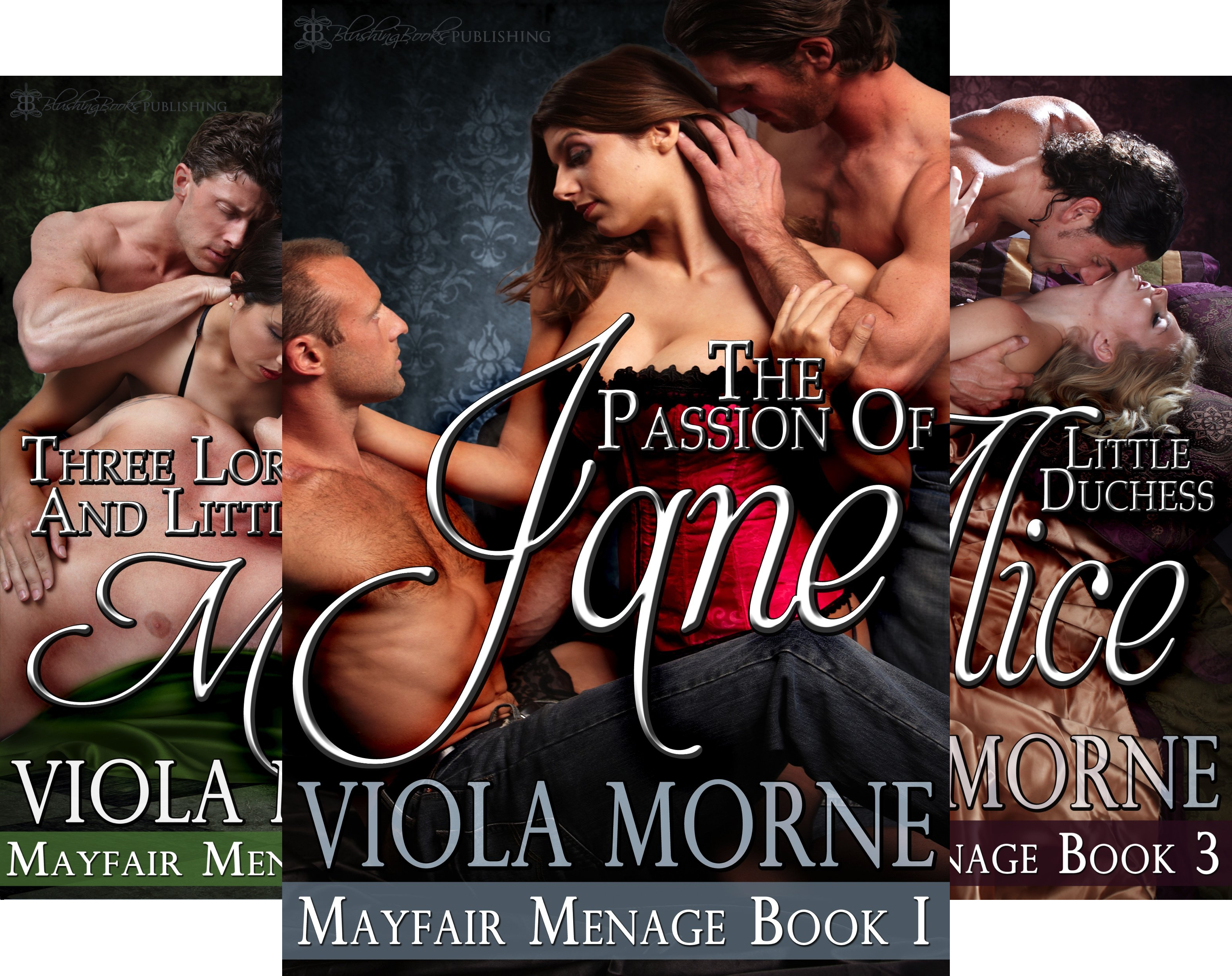Mayfair Menage (4 Book Series)