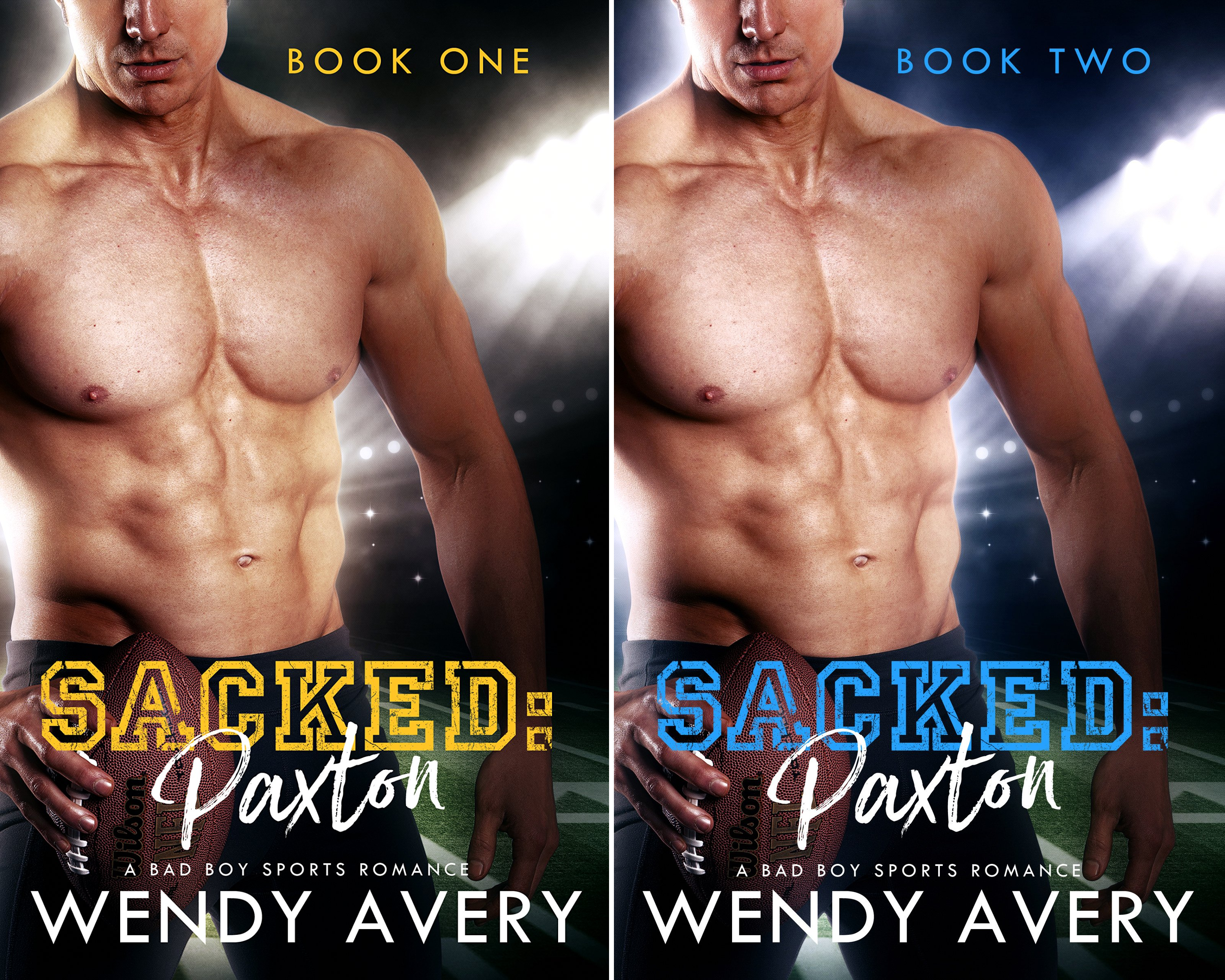 Sacked Paxton (2 Book Series)