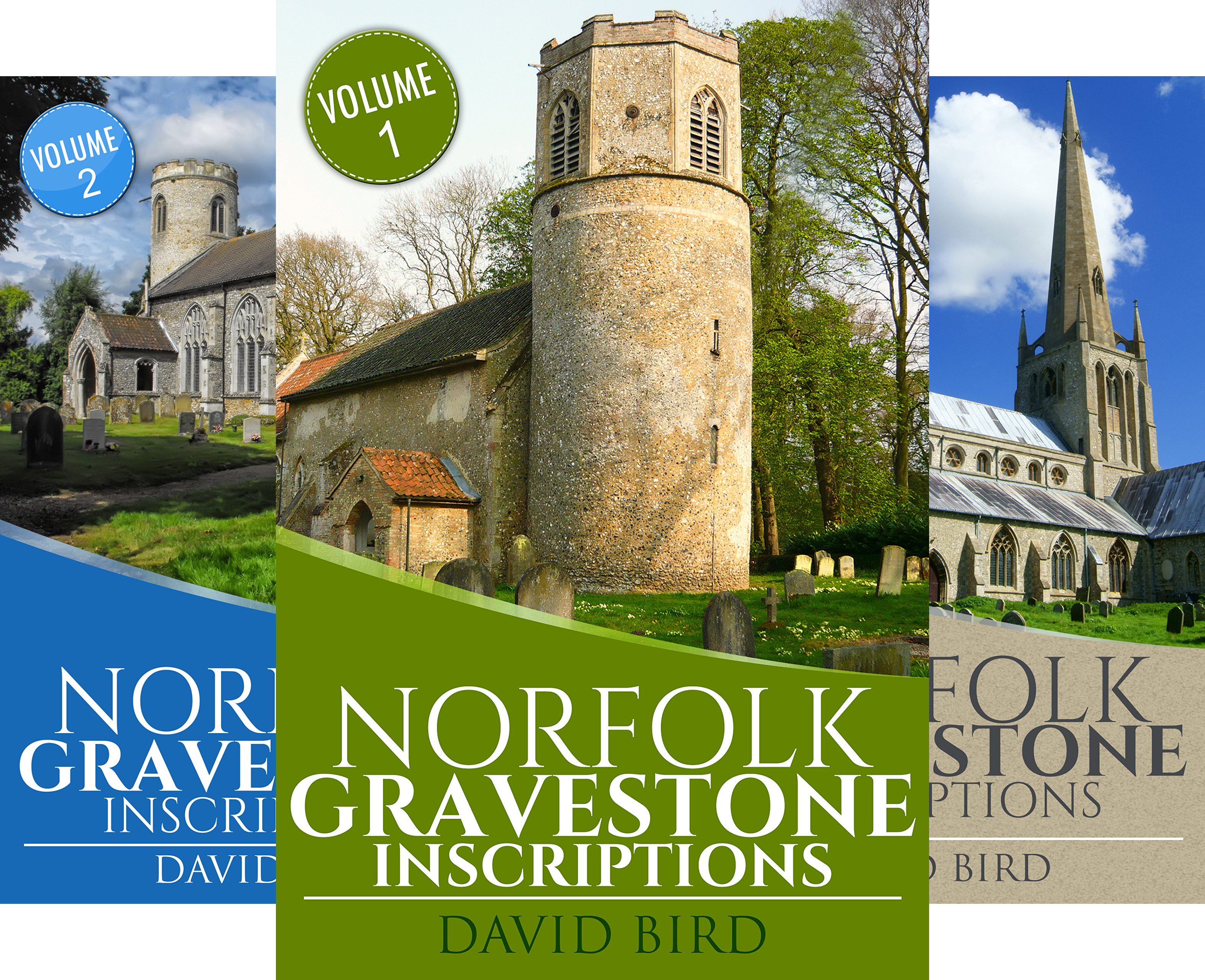 Norfolk Gravestone Inscriptions (4 Book Series)