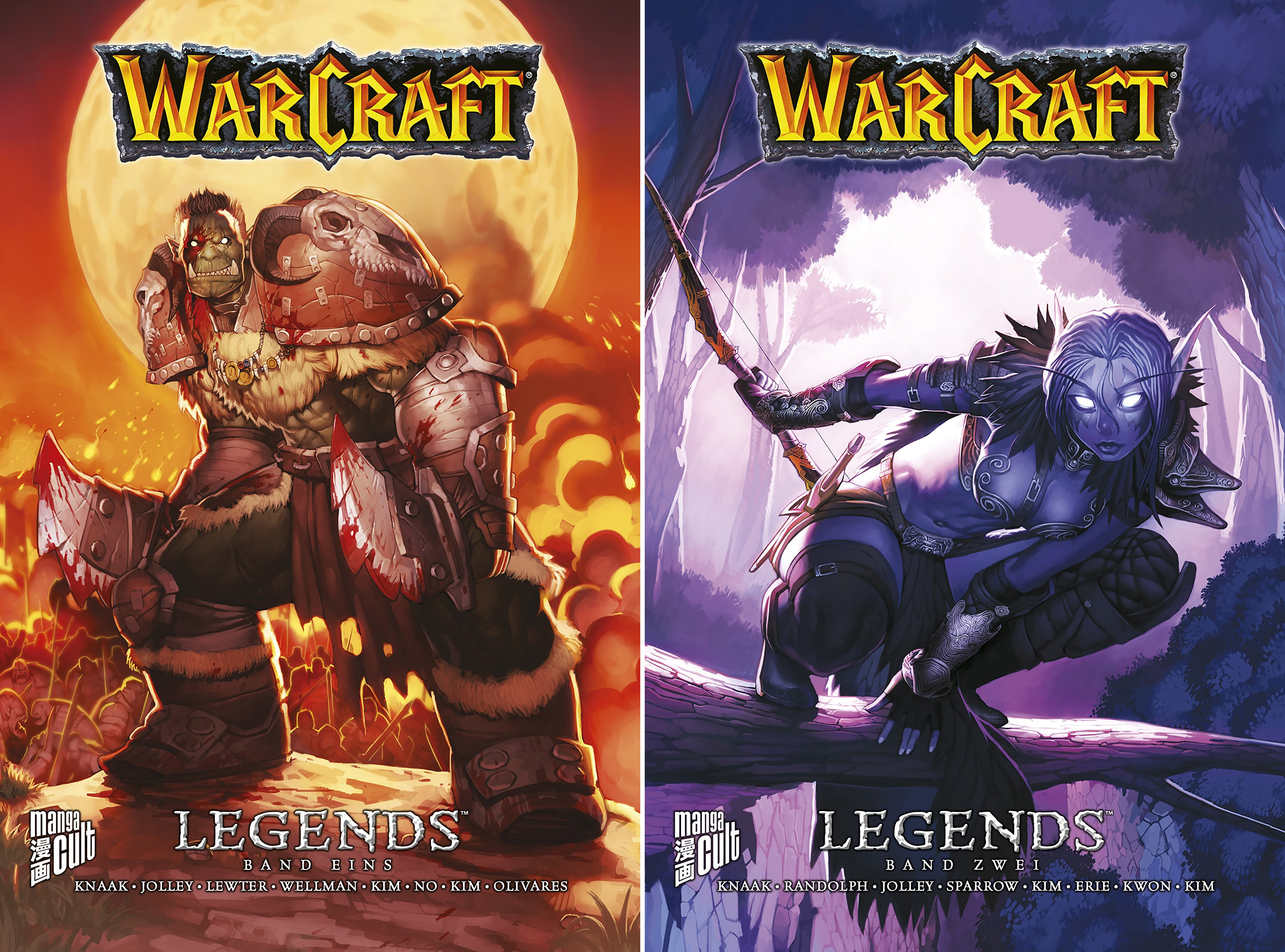 WarCraft: Legends (Reihe in 2 Bänden)
