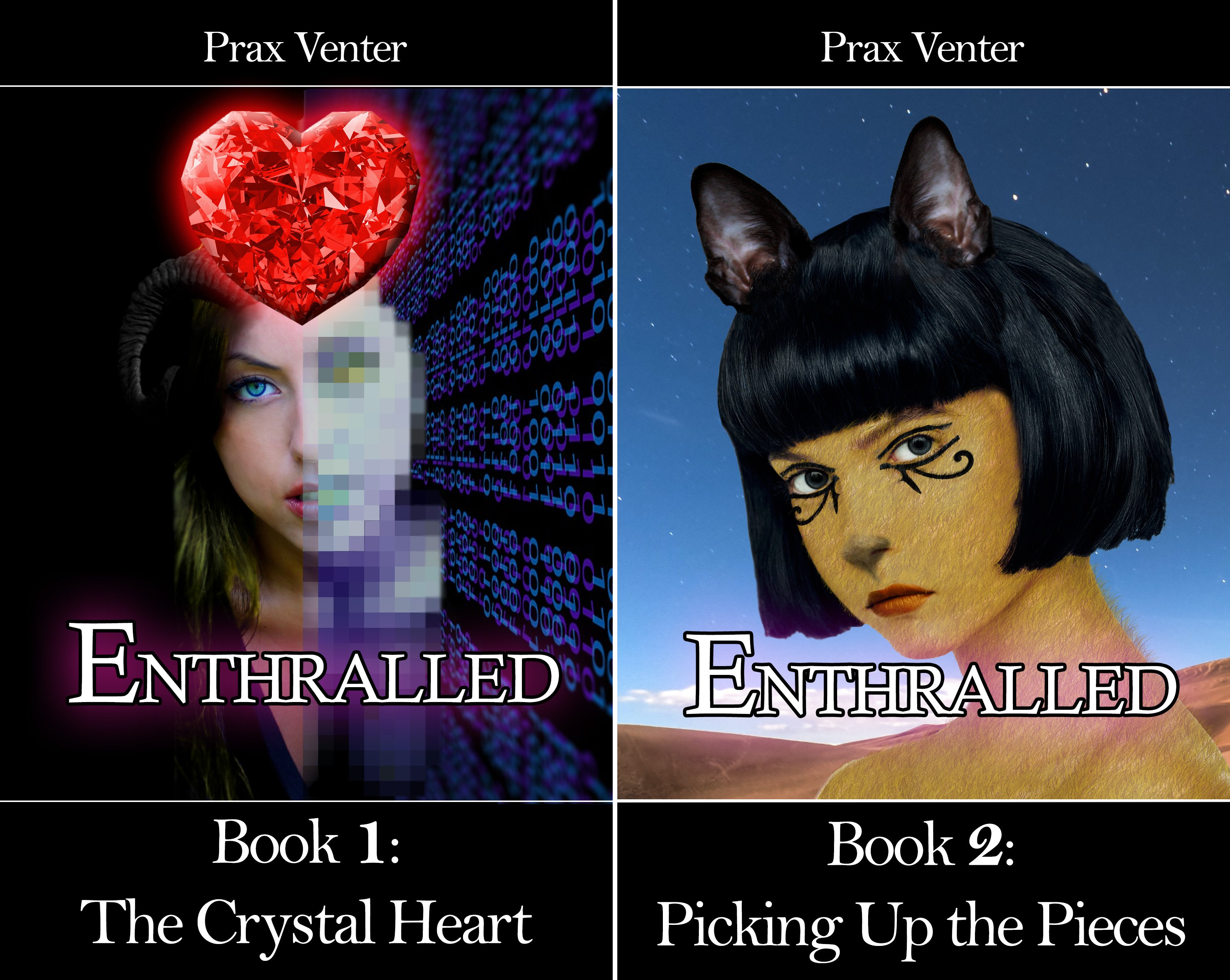 Enthralled (2 Book Series)