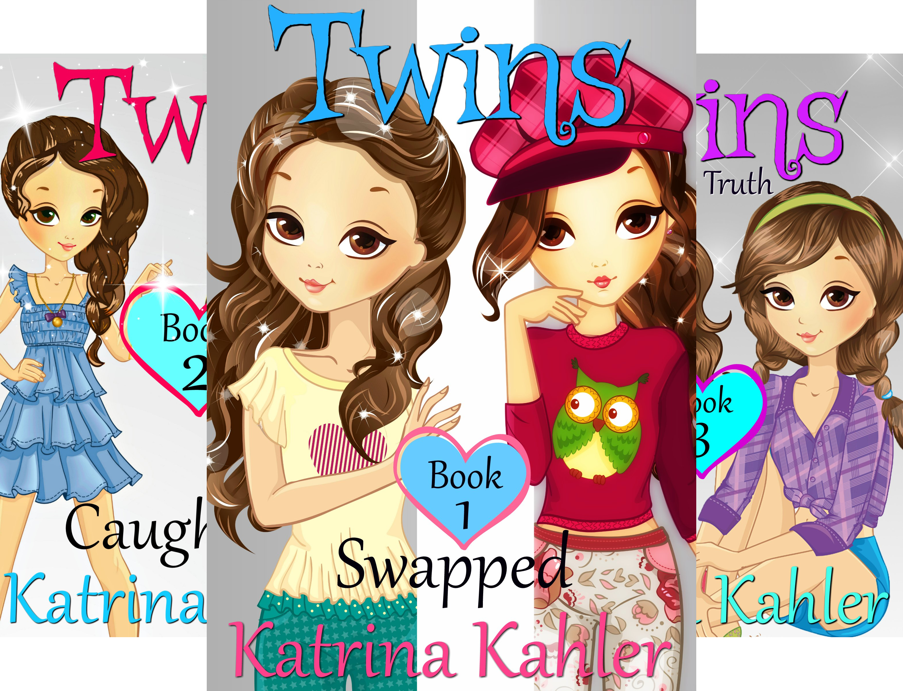 Books for Girls - TWINS (14 Book Series)