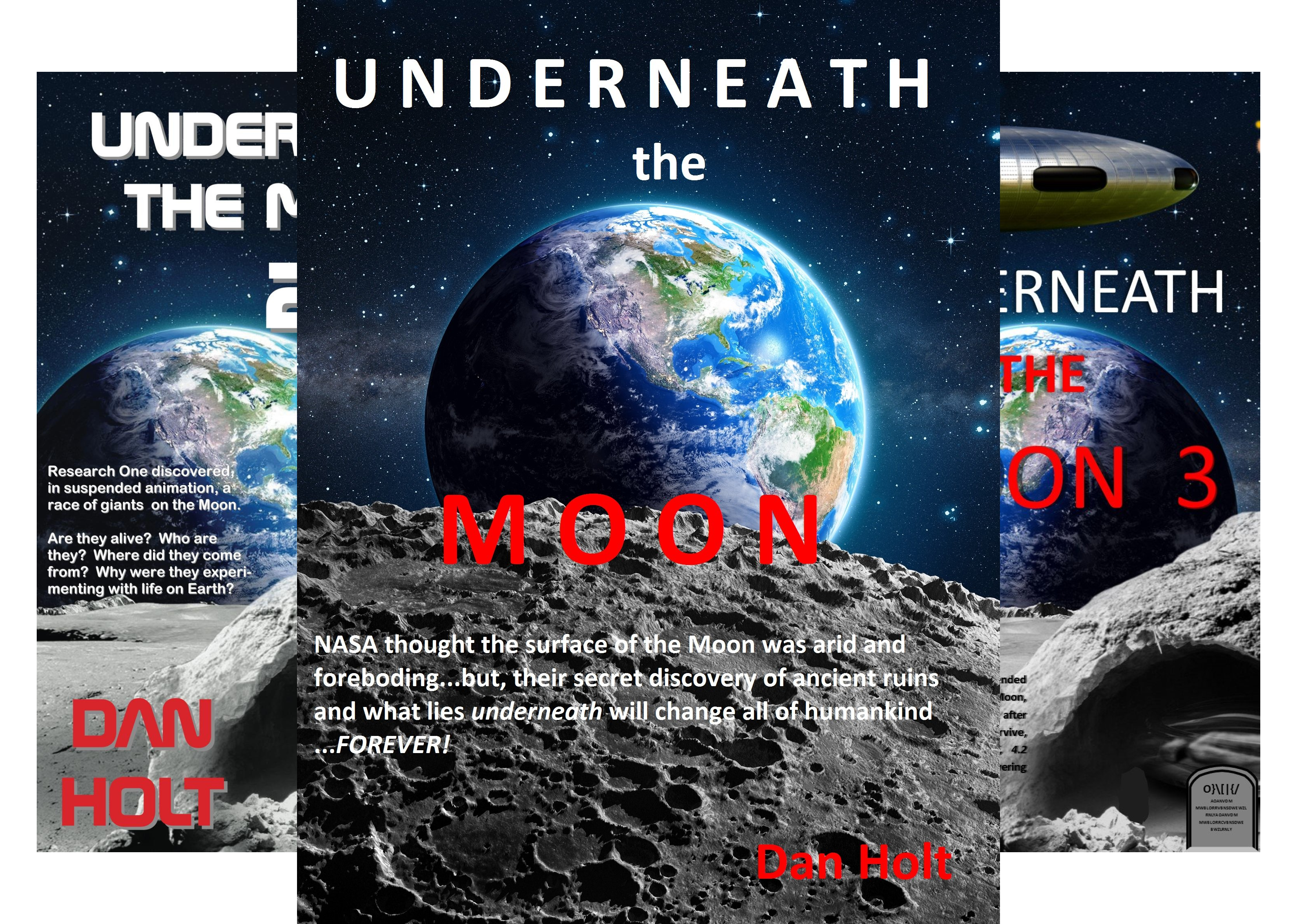 Underneath The Moon (5 Book Series)
