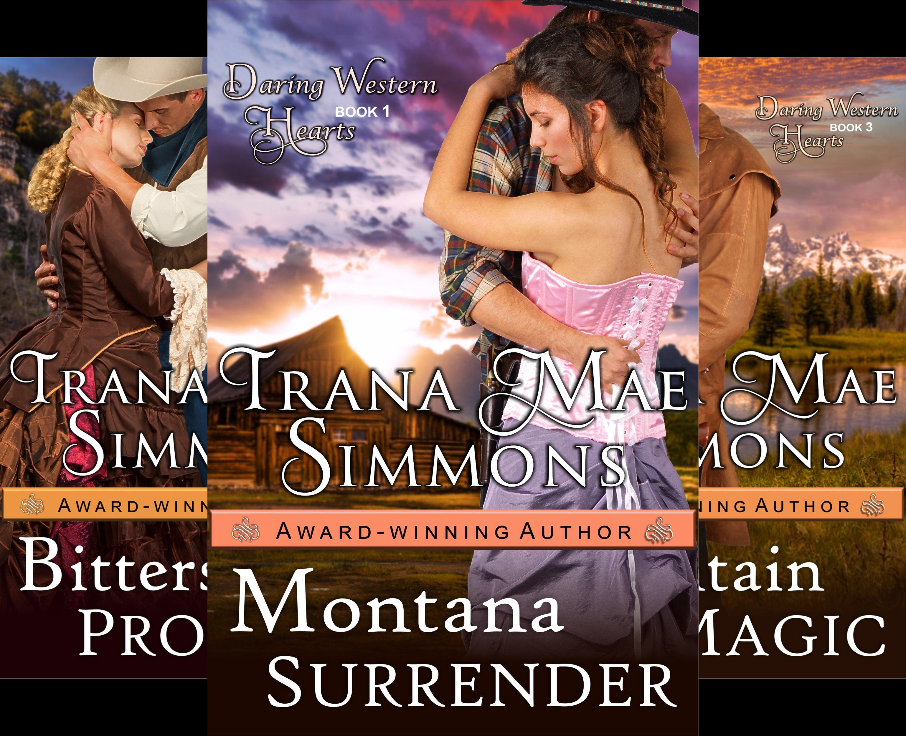 Daring Western Hearts (3 Book Series)