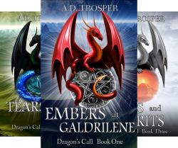 Dragon's Call Series (3 Book Series) by  A.D. Trosper