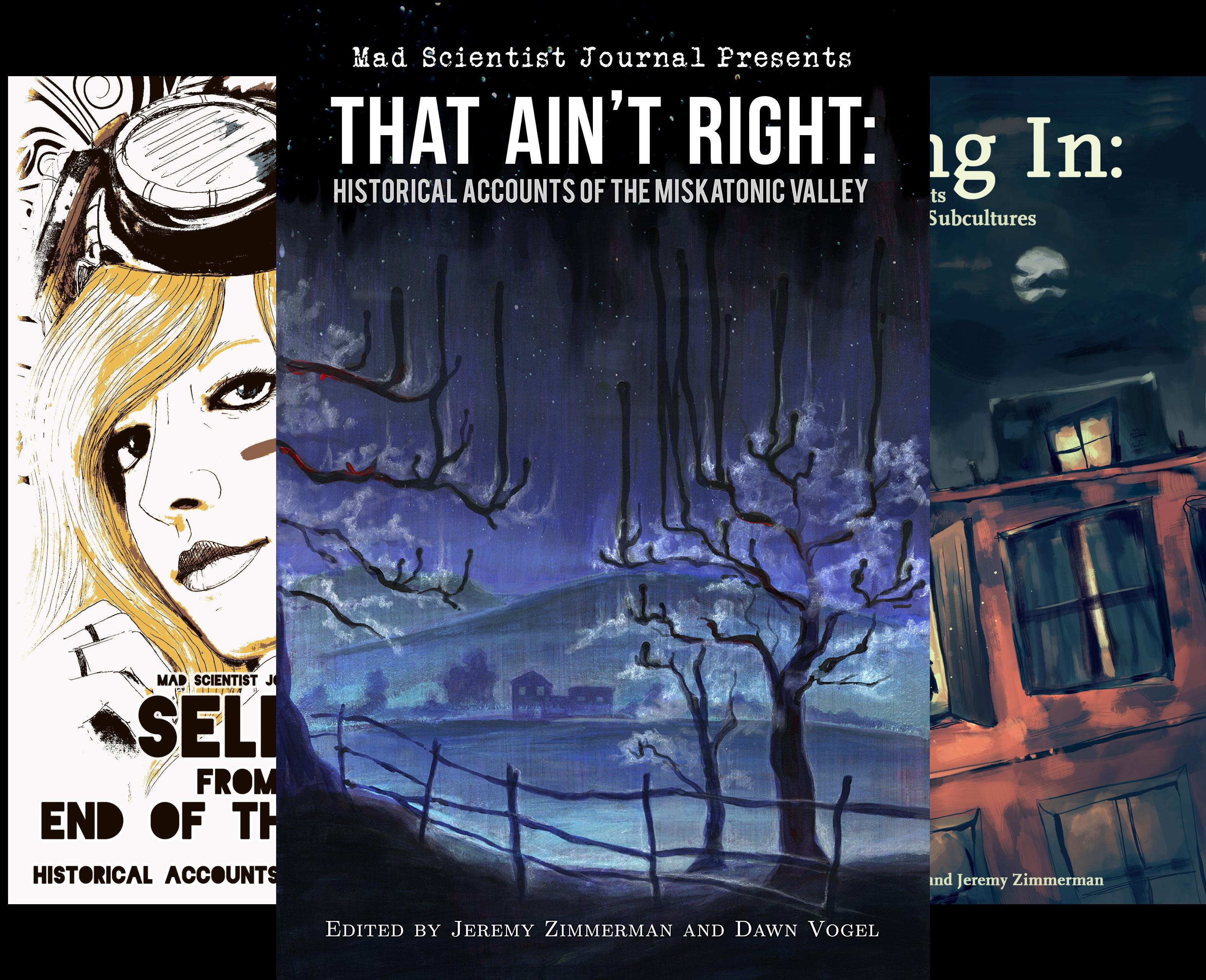 Mad Scientist Journal Presents (4 Book Series)