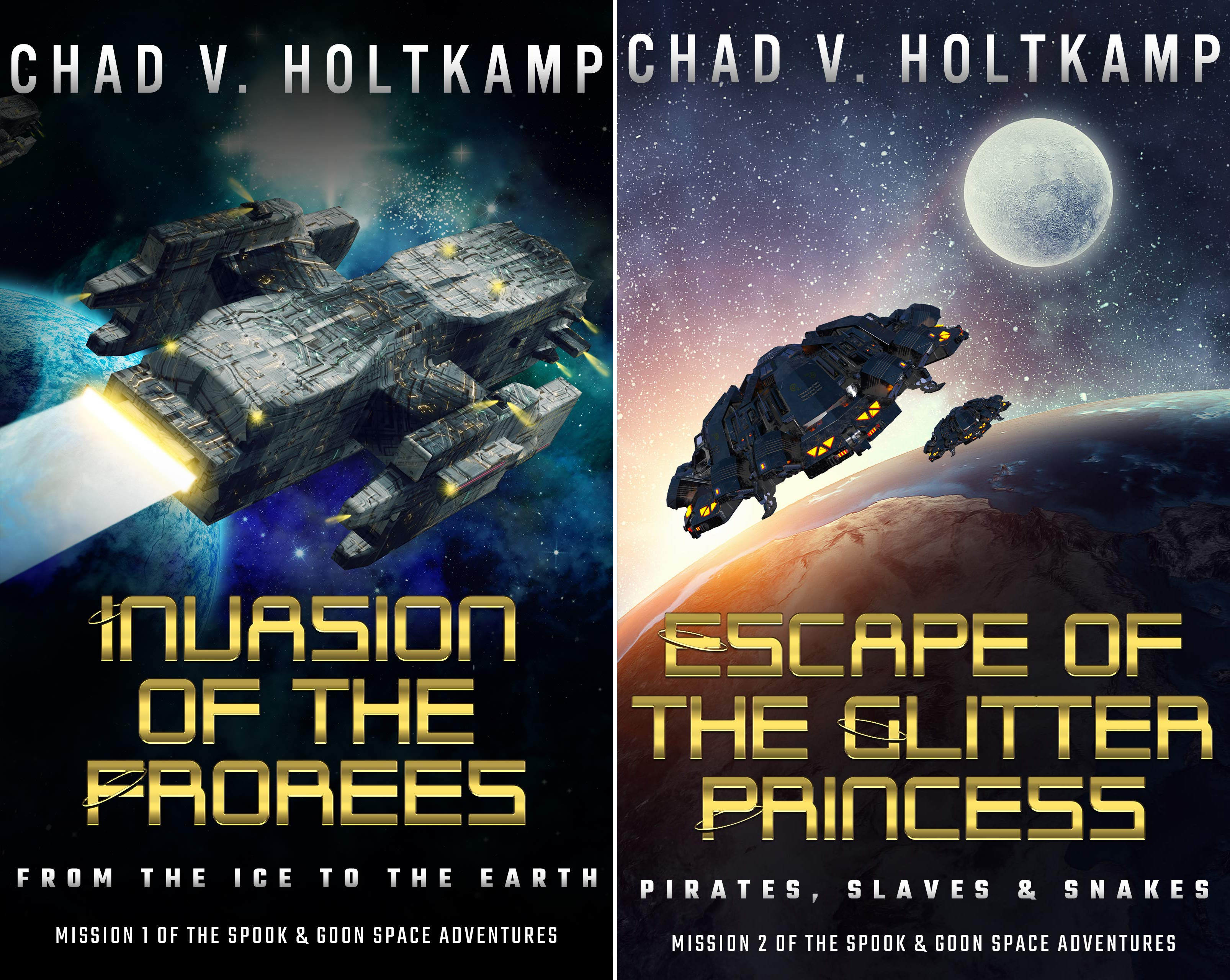 The SPOOK & GOON Space Adventures (2 Book Series)