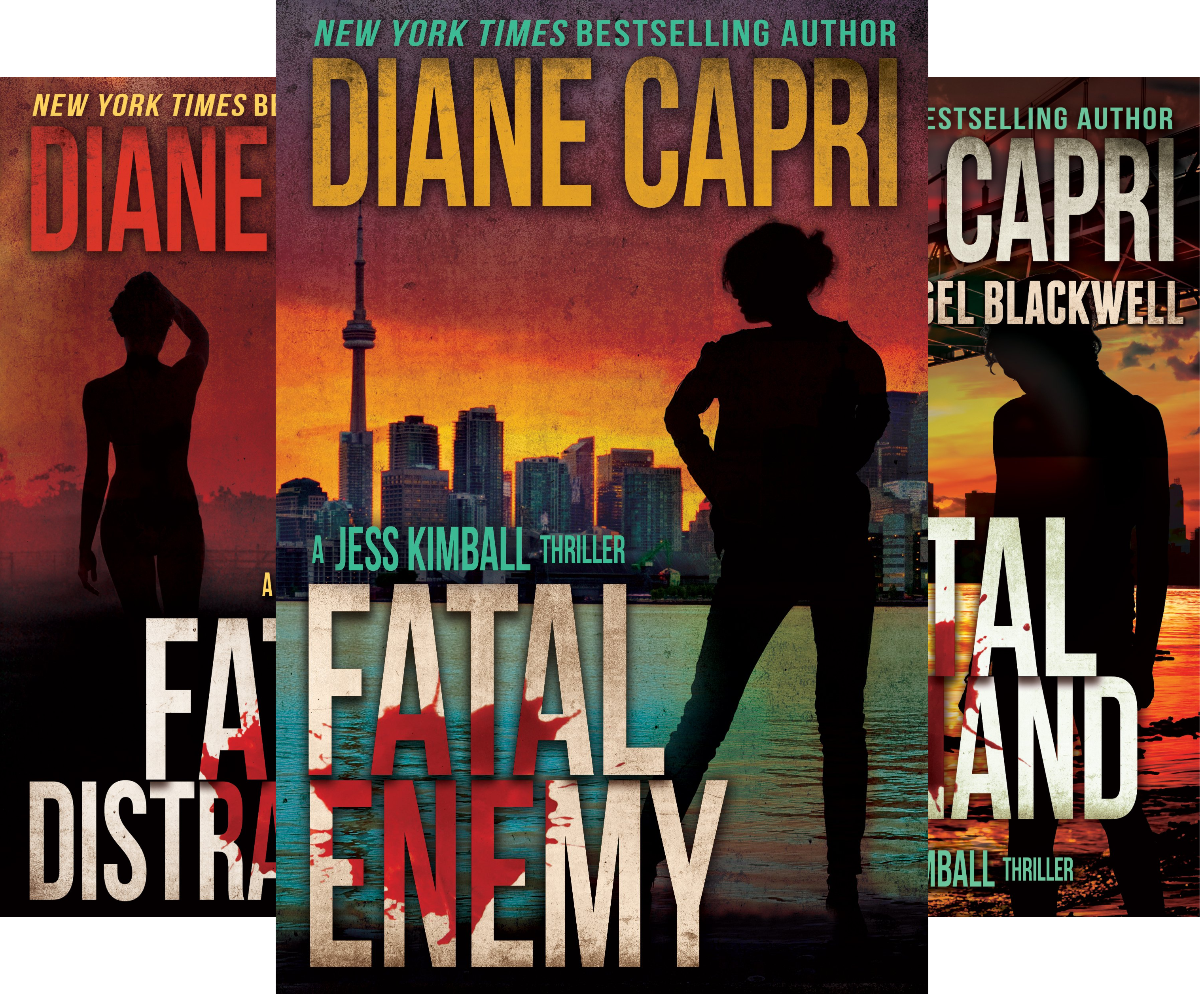 The Jess Kimball Thrillers Series (8 Book Series)