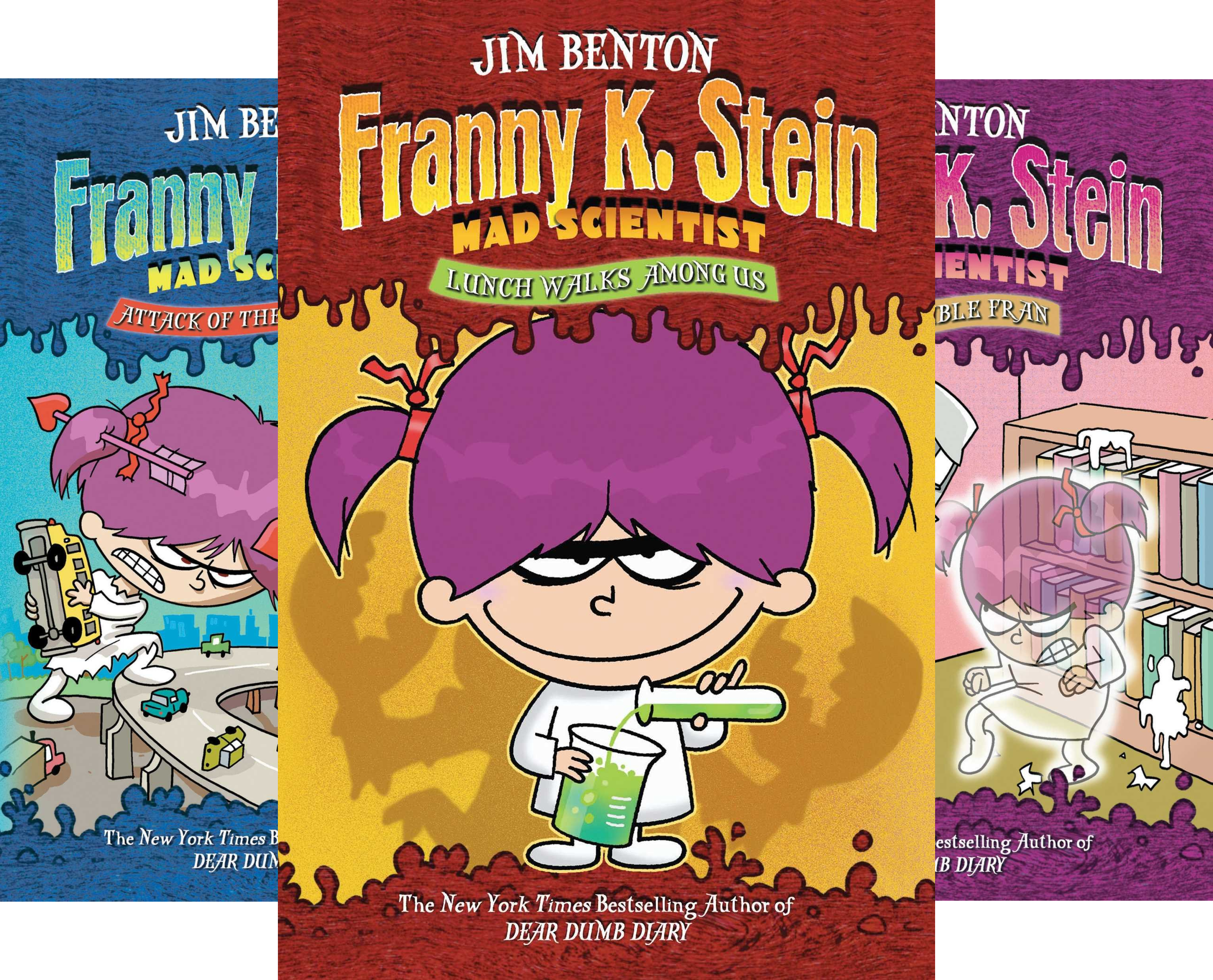 ate of Danger (Boxed Set): Lunch Walks Among Us; Attack of the 50-Ft. Cupid; The Invisible Fran; The Fran That Time Forgot (Franny K. Stein, Mad Scientist) (4 Book Series) ()