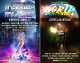 img - for Superheroes and Vile Villains (2 Book Series) book / textbook / text book