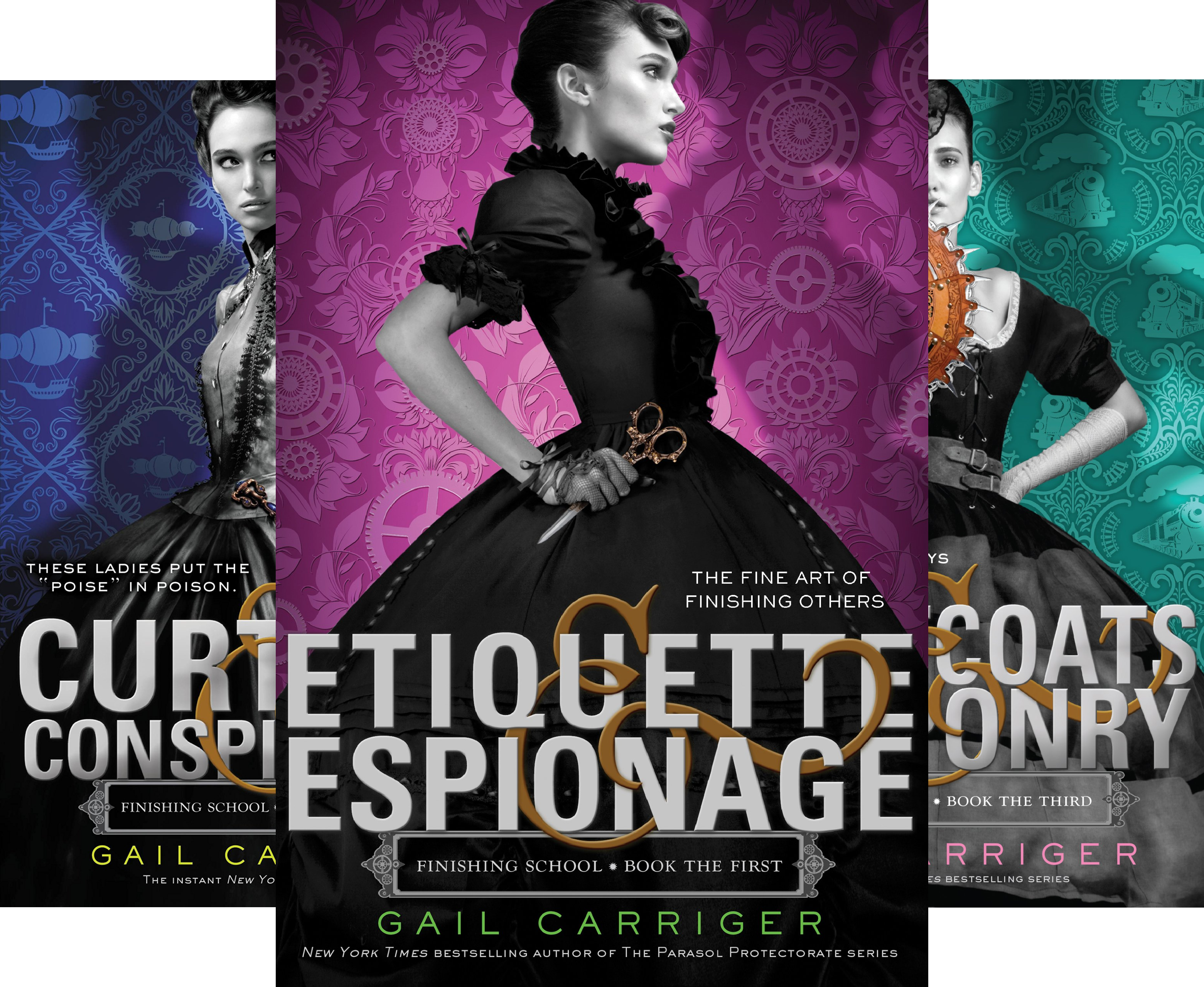 Gail Carriger - Finishing School Series (4 Book Series)