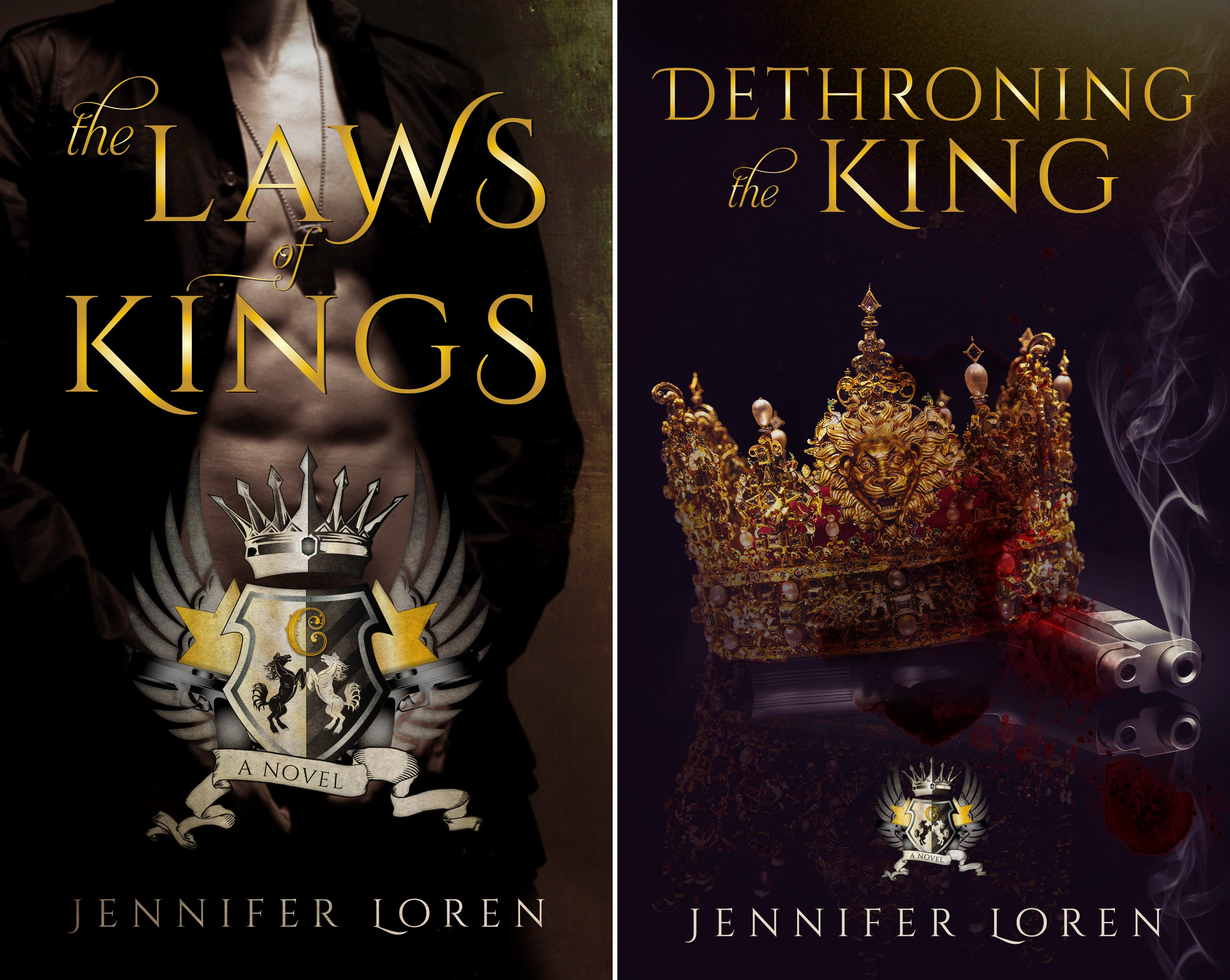 The Laws of Kings (2 Book Series)