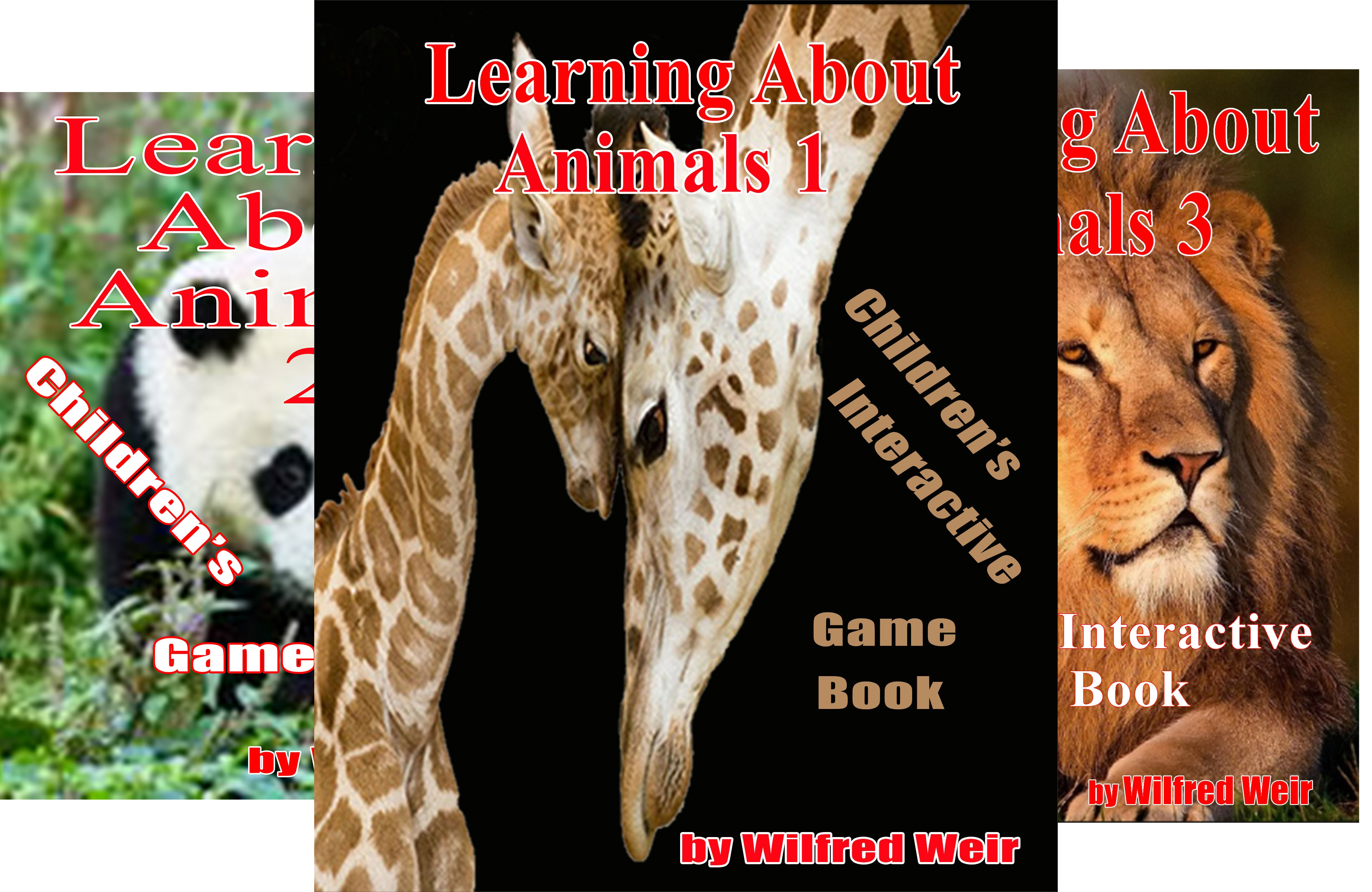 Learning About Animals (3 Book Series)