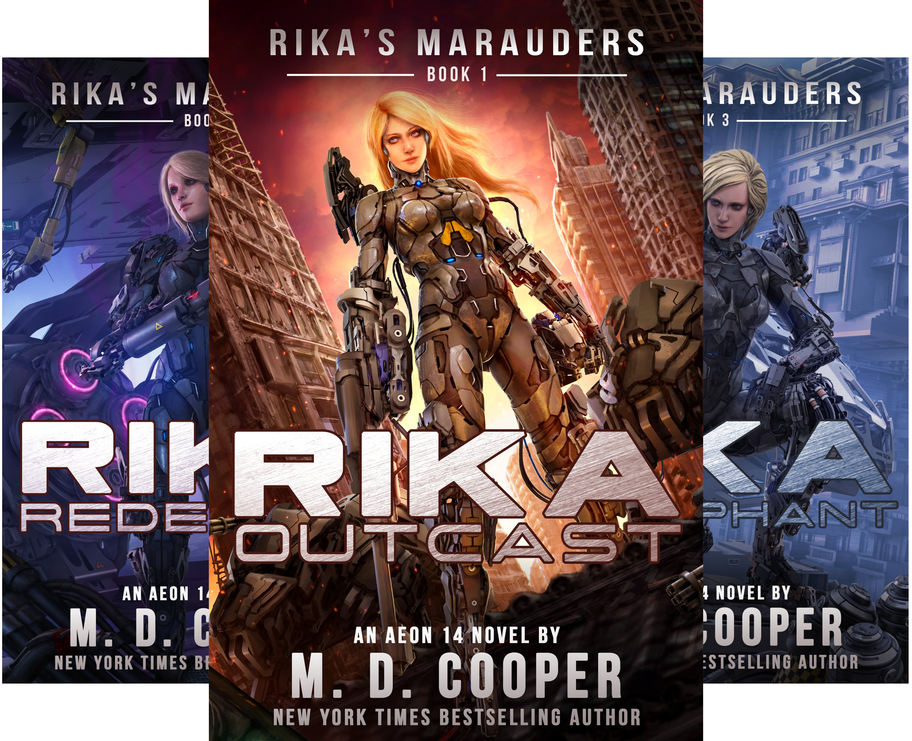 Rika's Marauders (4 Book Series)