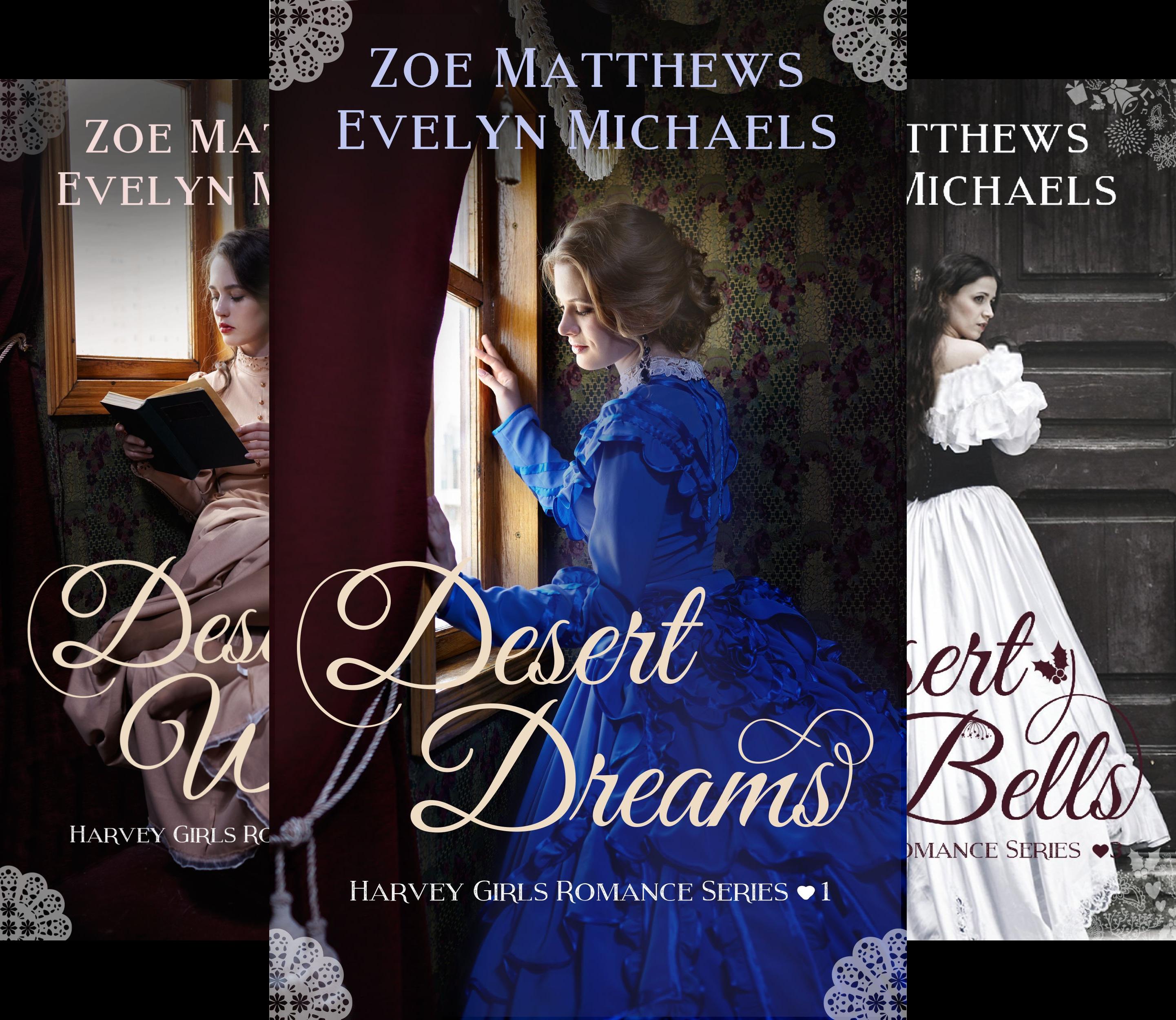 Harvey Girls Romance Series (4 Book Series)