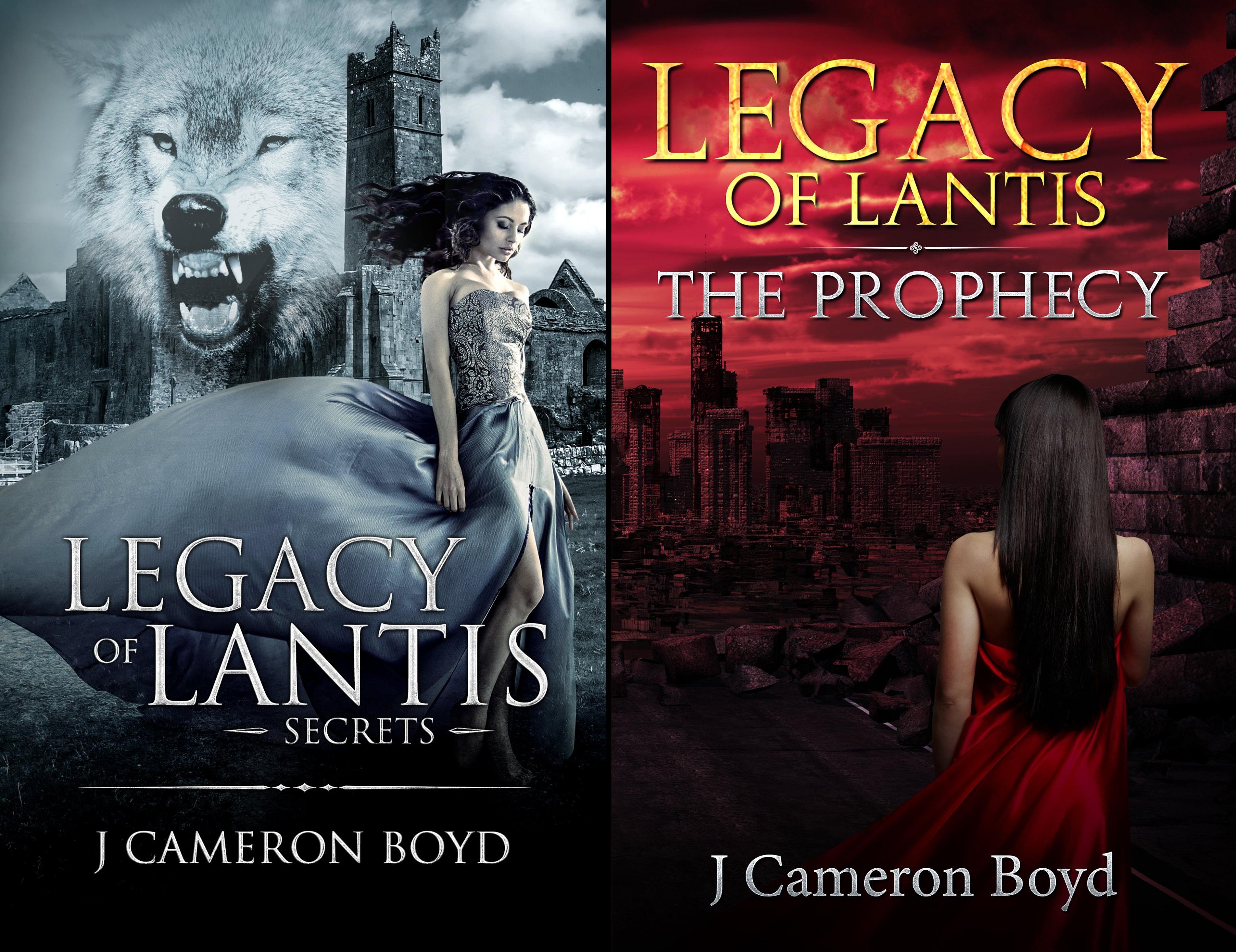 Legacy of Lantis (2 Book Series)
