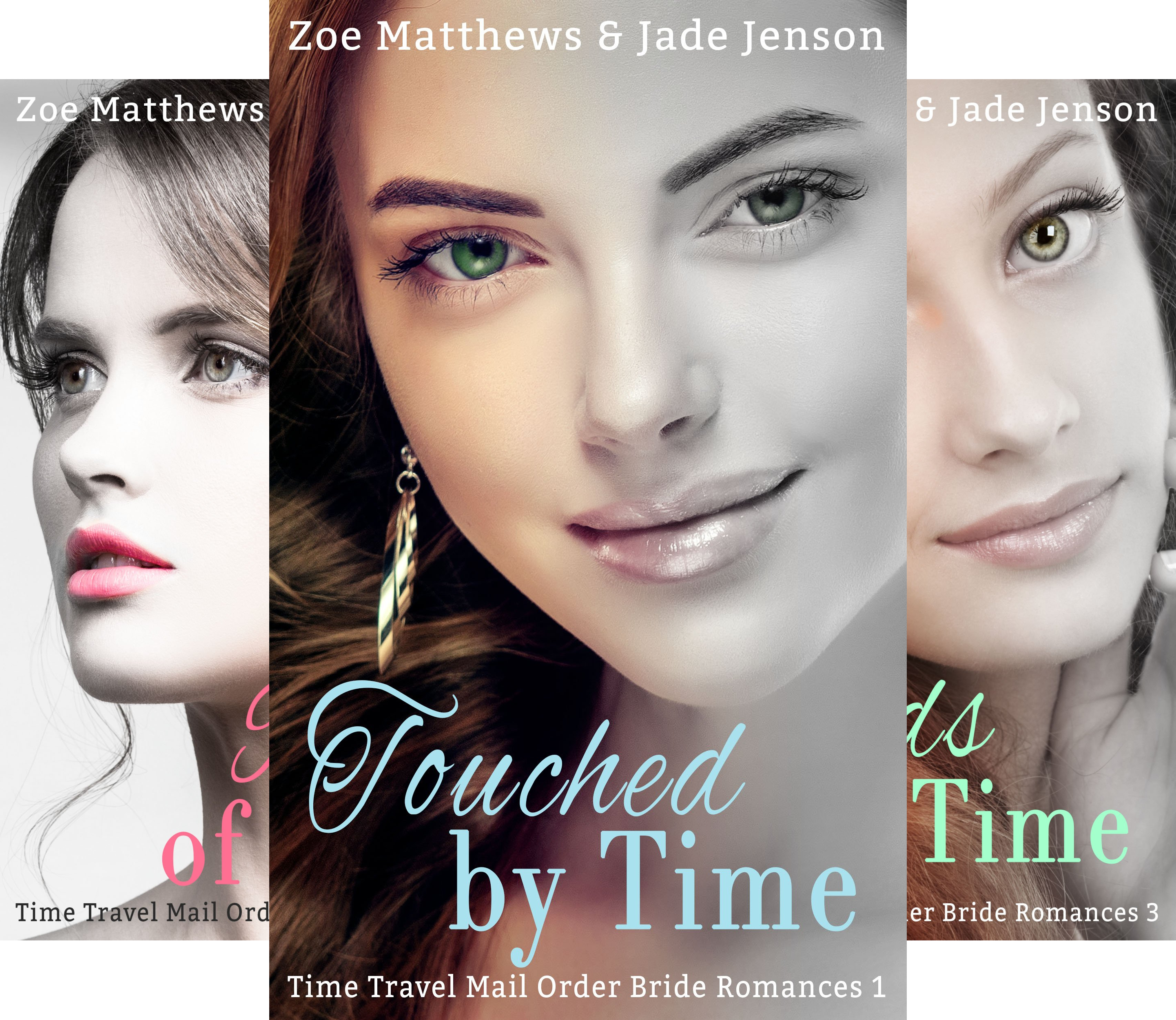 Time Travel/Mail-Order Brides Romance Series (6 Book Series)