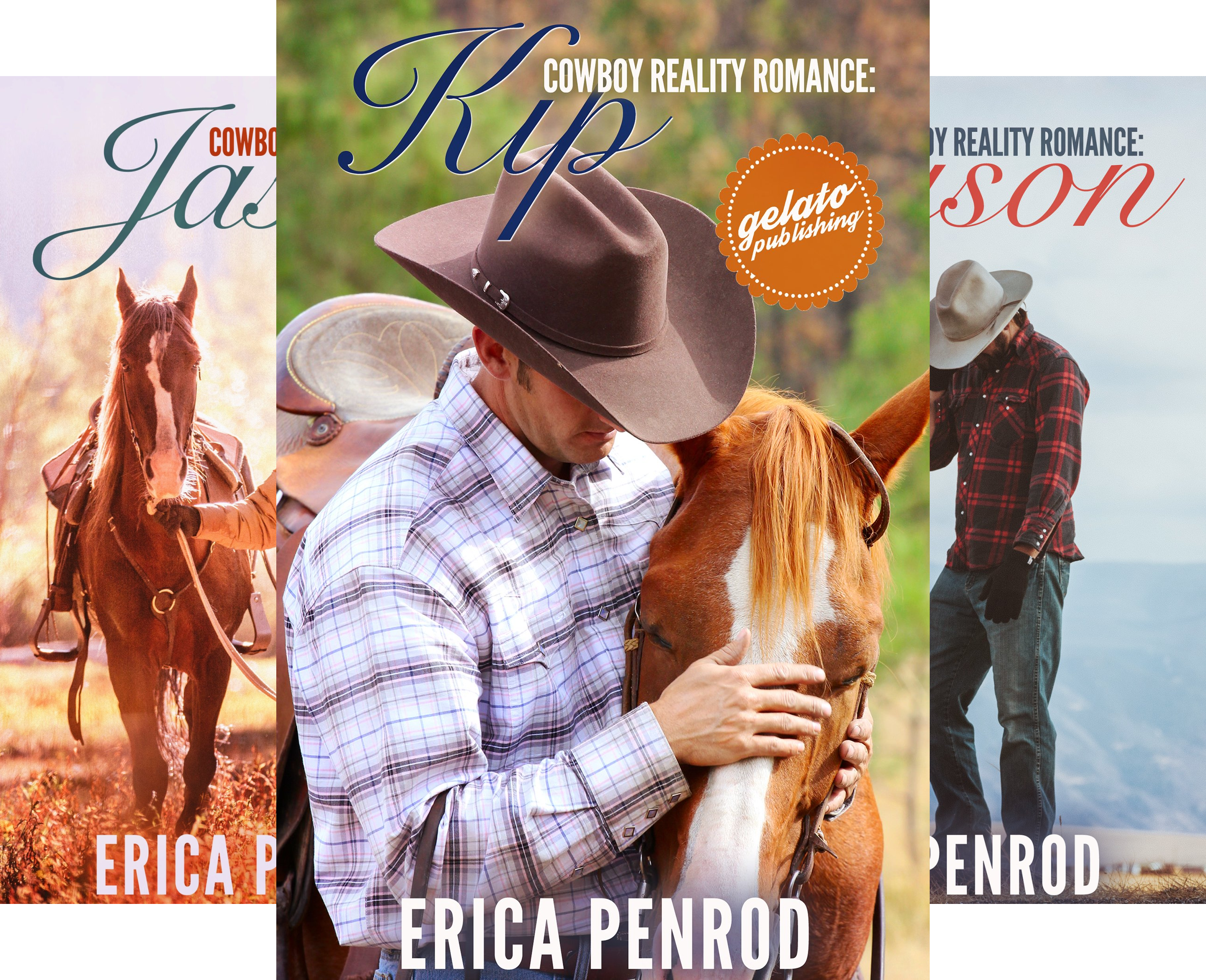 Cowboy Reality Romance (3 Book Series)